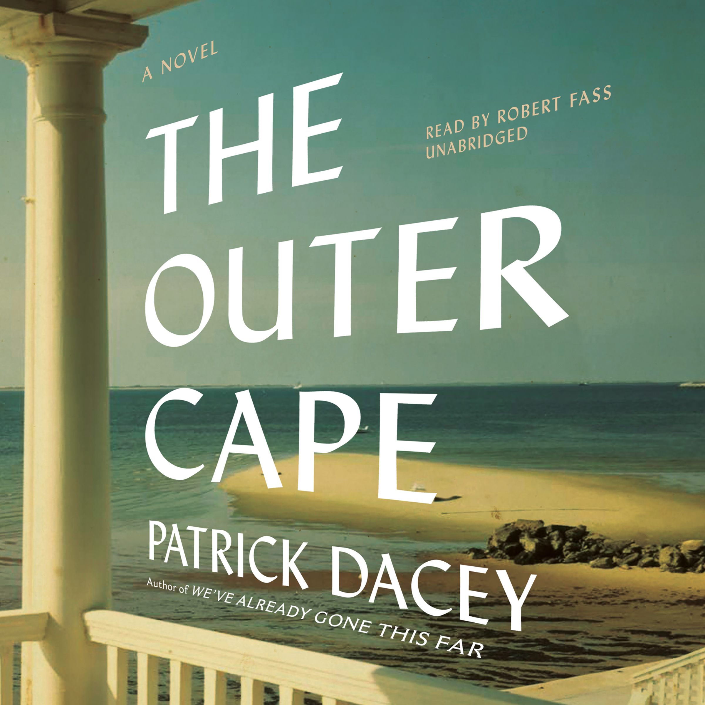 Printable Outer Cape: A Novel Audiobook Cover Art