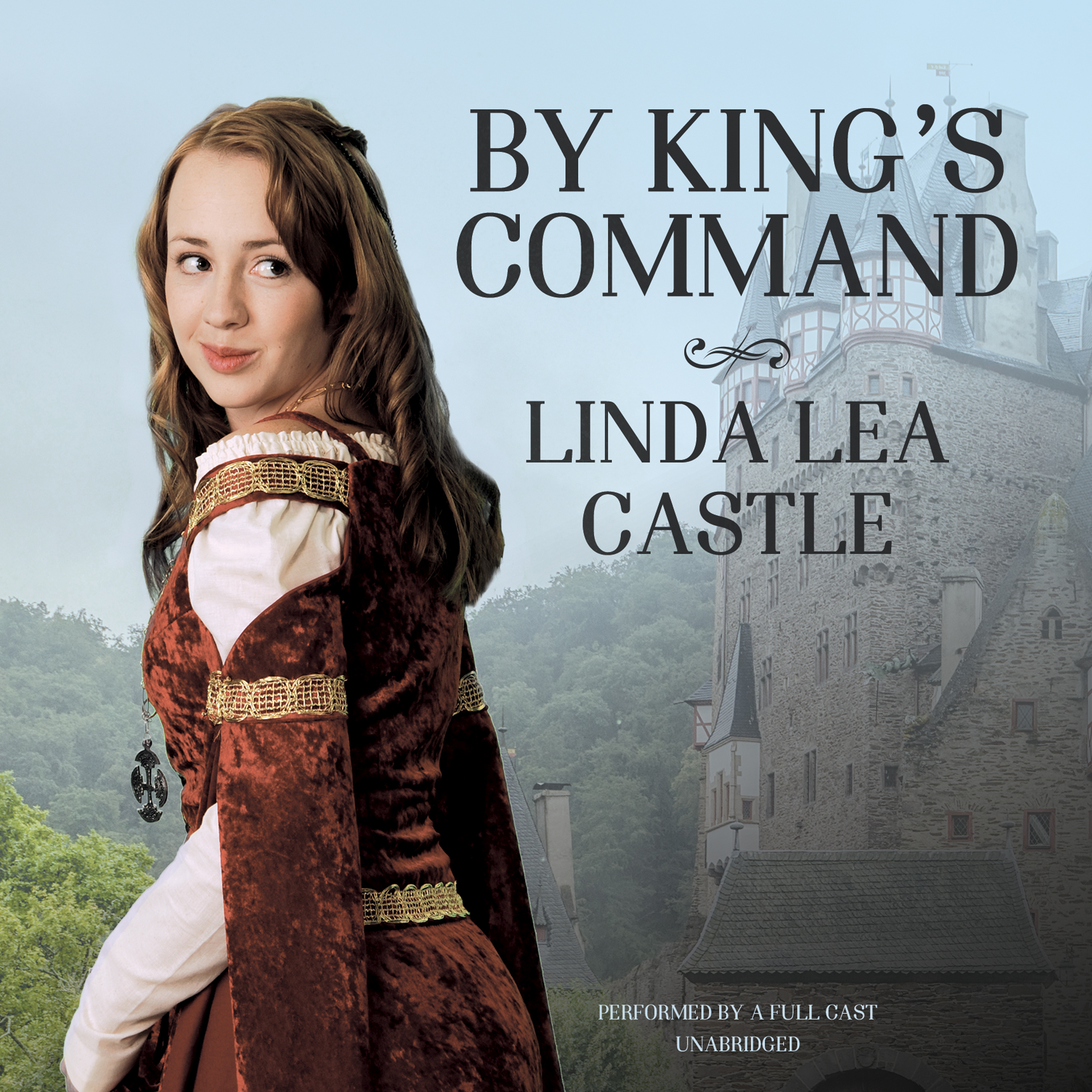 Printable By King's Command Audiobook Cover Art