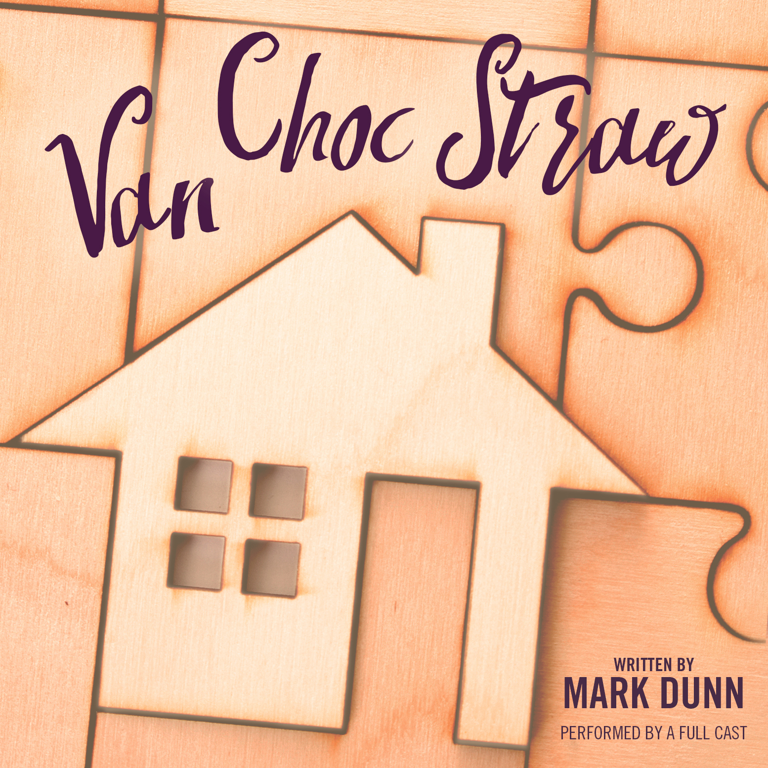 Printable Van Choc Straw Audiobook Cover Art