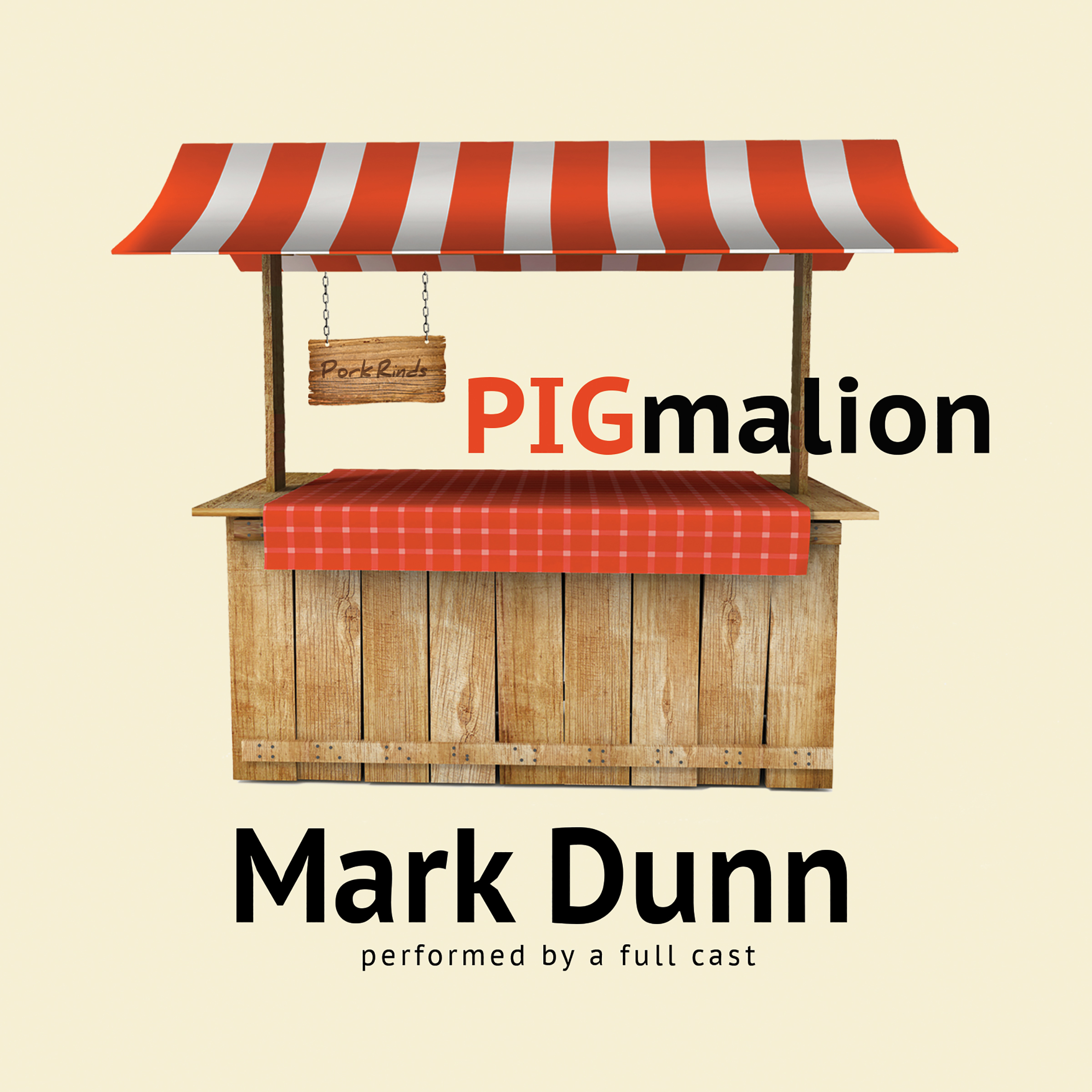 Printable PIGmalion Audiobook Cover Art
