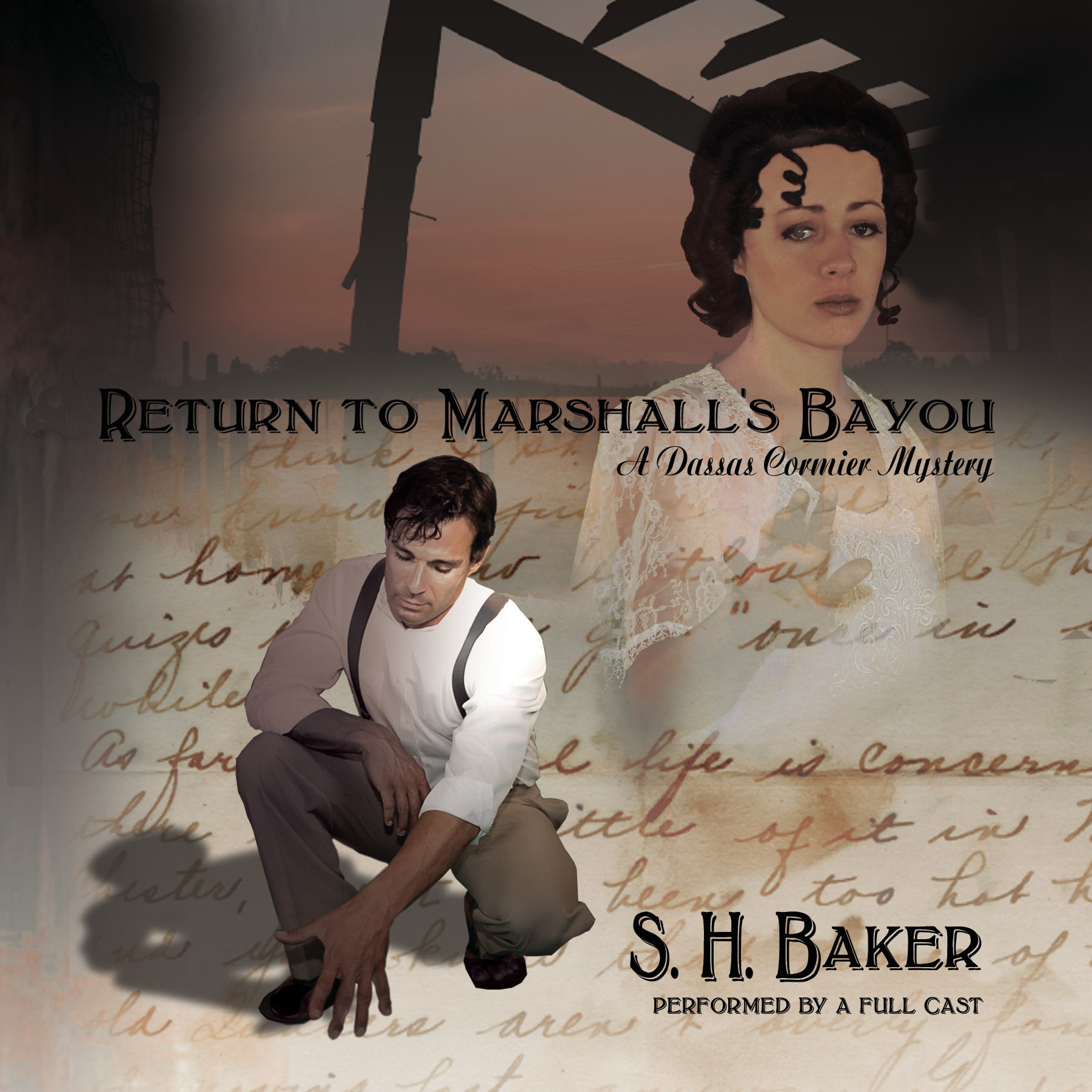 Printable Return to Marshall's Bayou: A Dassas Cormier Mystery Audiobook Cover Art