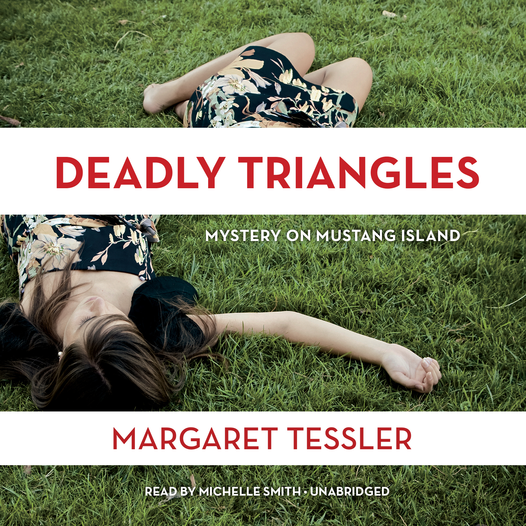 Printable Deadly Triangles: Mystery on Mustang Island Audiobook Cover Art