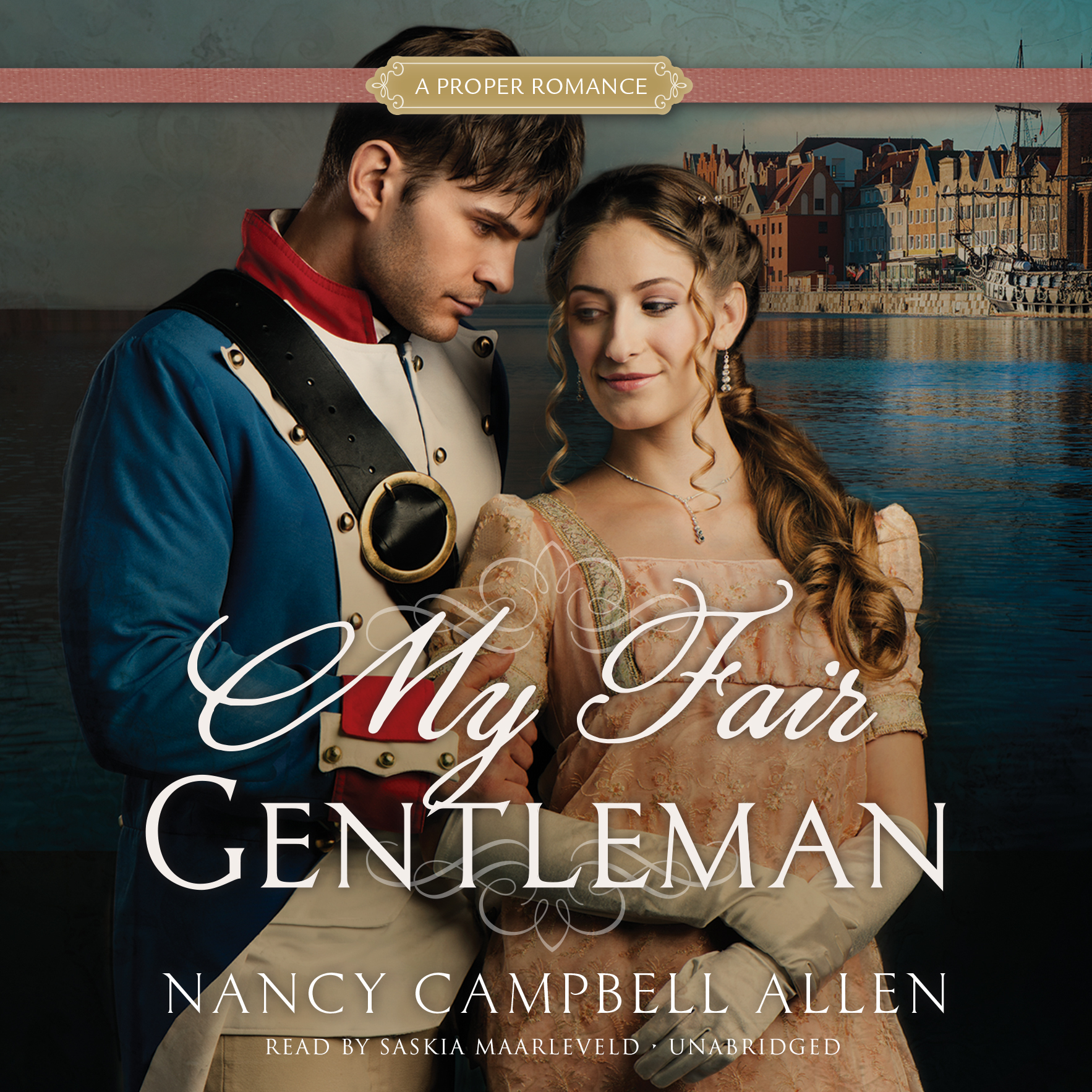 Printable My Fair Gentleman: A Proper Romance Audiobook Cover Art