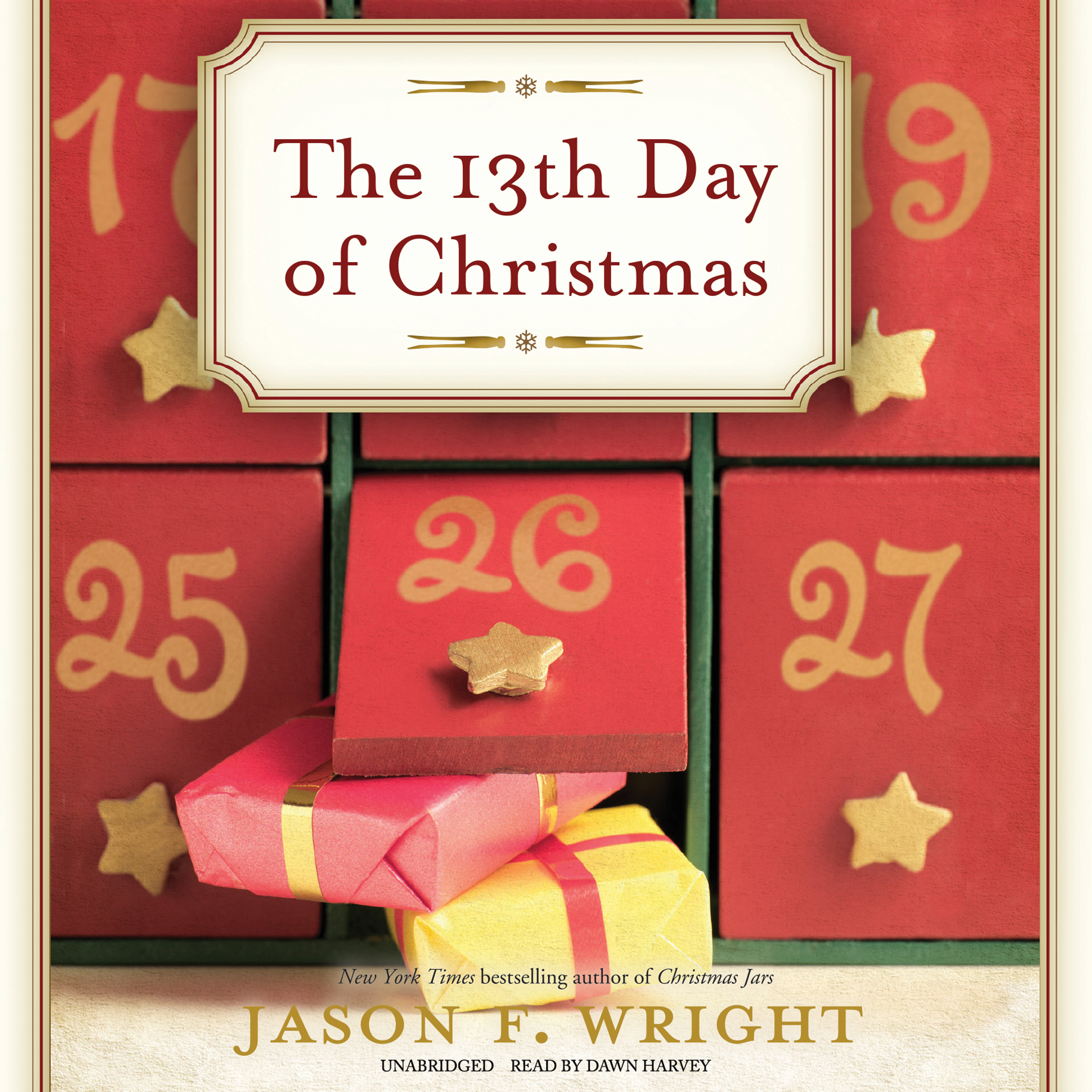 Printable The 13th Day of Christmas Audiobook Cover Art