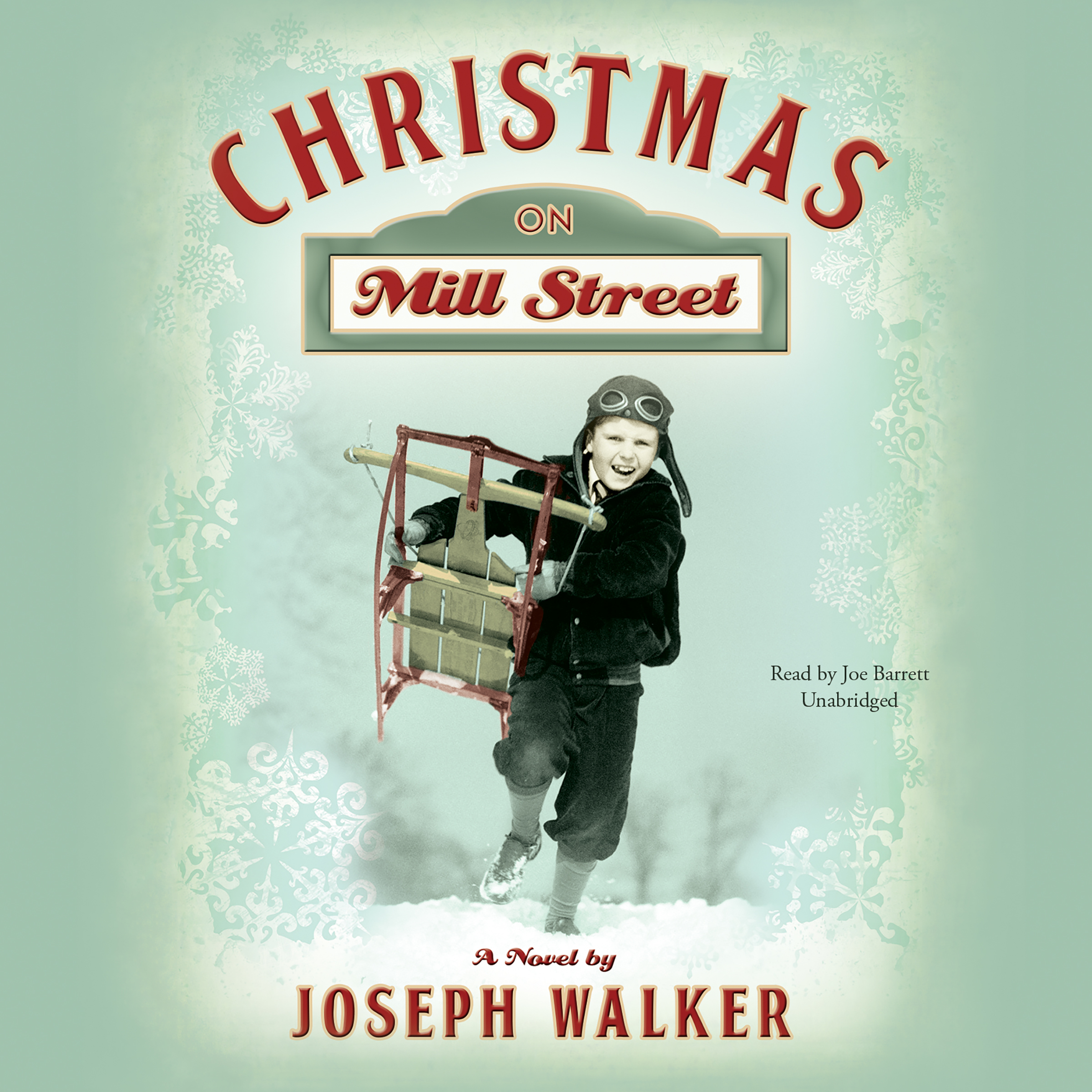 Printable Christmas on Mill Street: A Novel Audiobook Cover Art