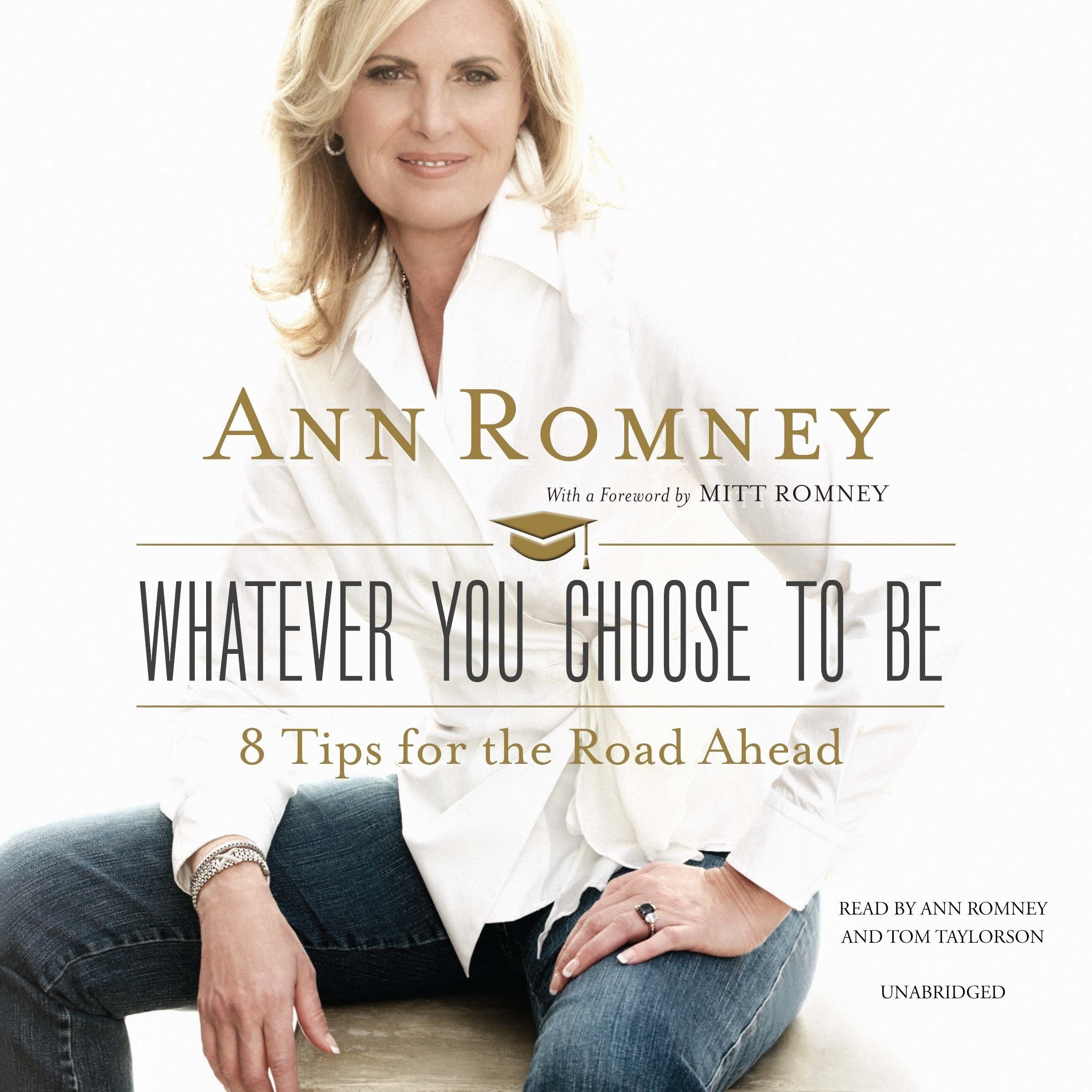 Printable Whatever You Choose to Be: 8 Tips for the Road Ahead Audiobook Cover Art