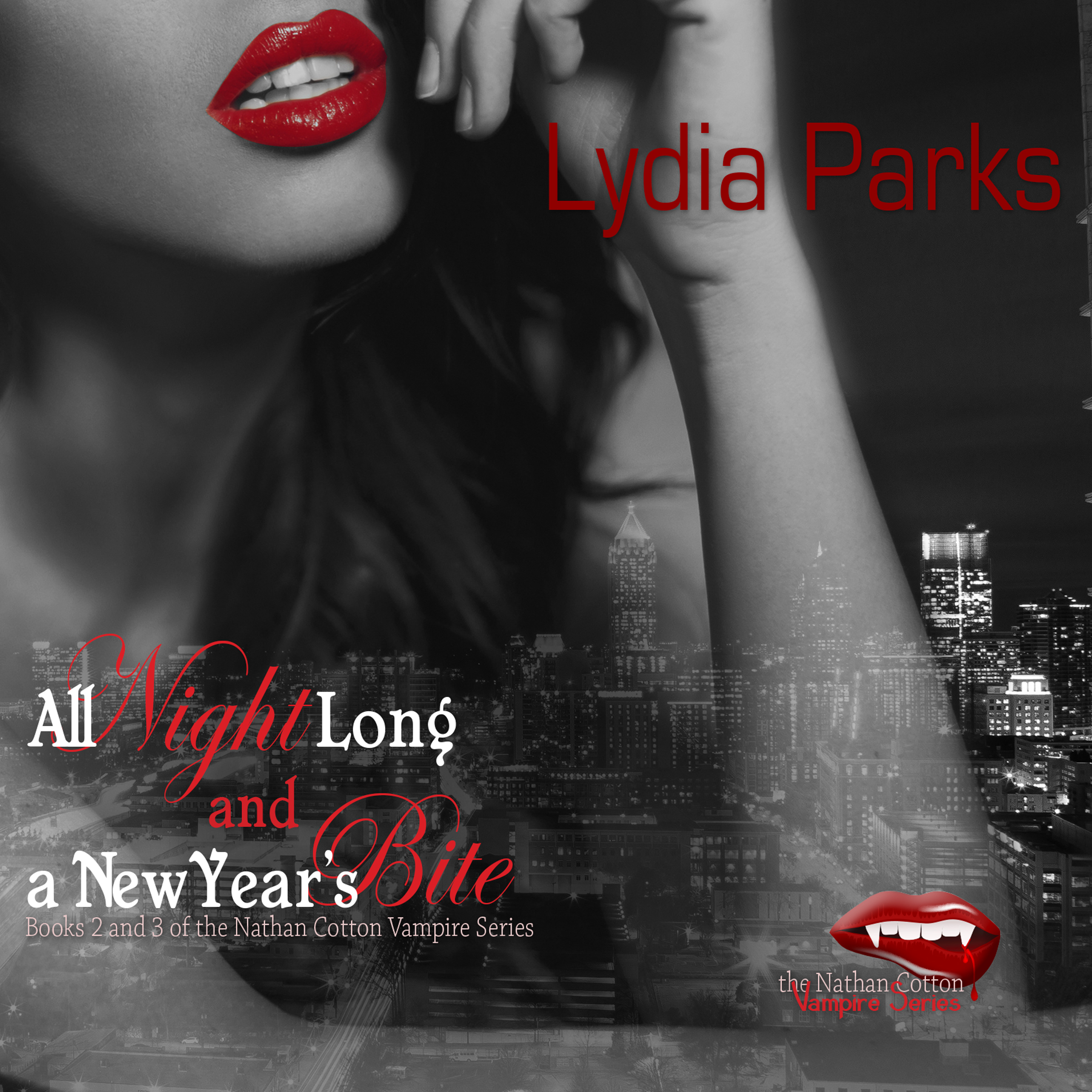 Printable All Night Long and A New Year's Bite Audiobook Cover Art