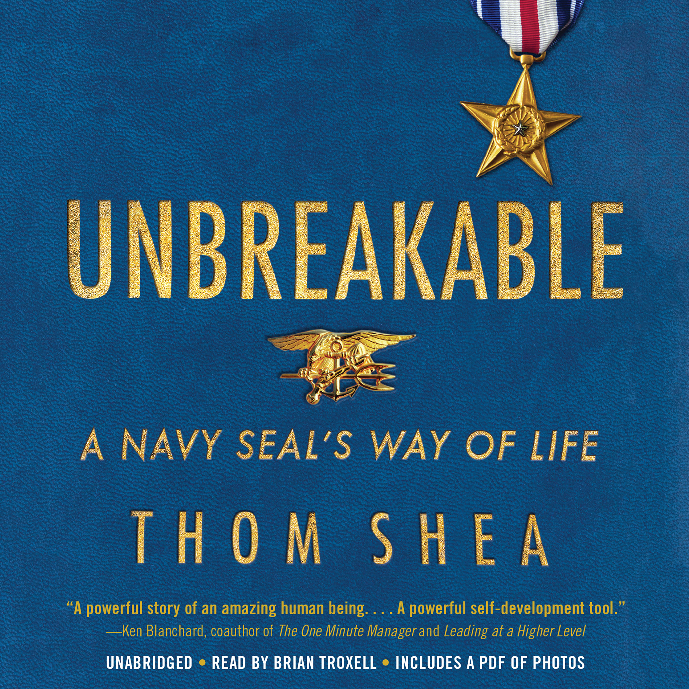 Printable Unbreakable: A Navy SEAL's Way of Life Audiobook Cover Art