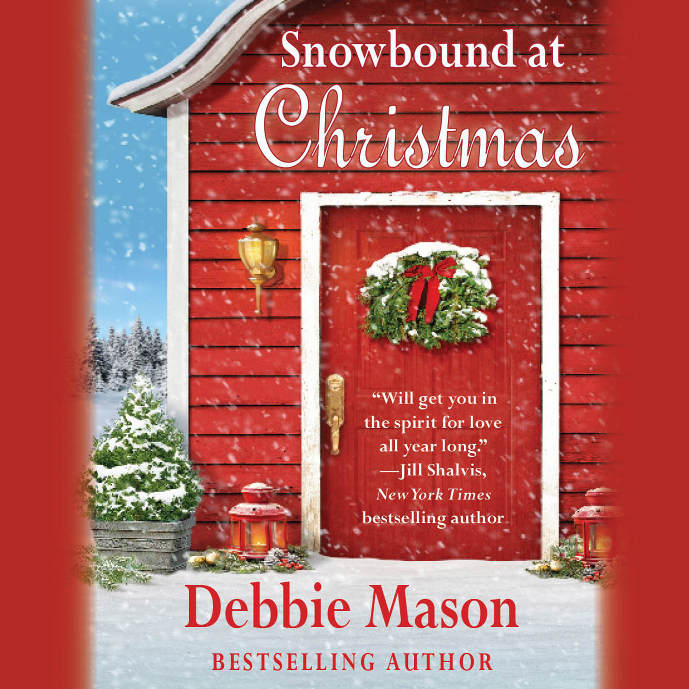 Printable Snowbound at Christmas Audiobook Cover Art
