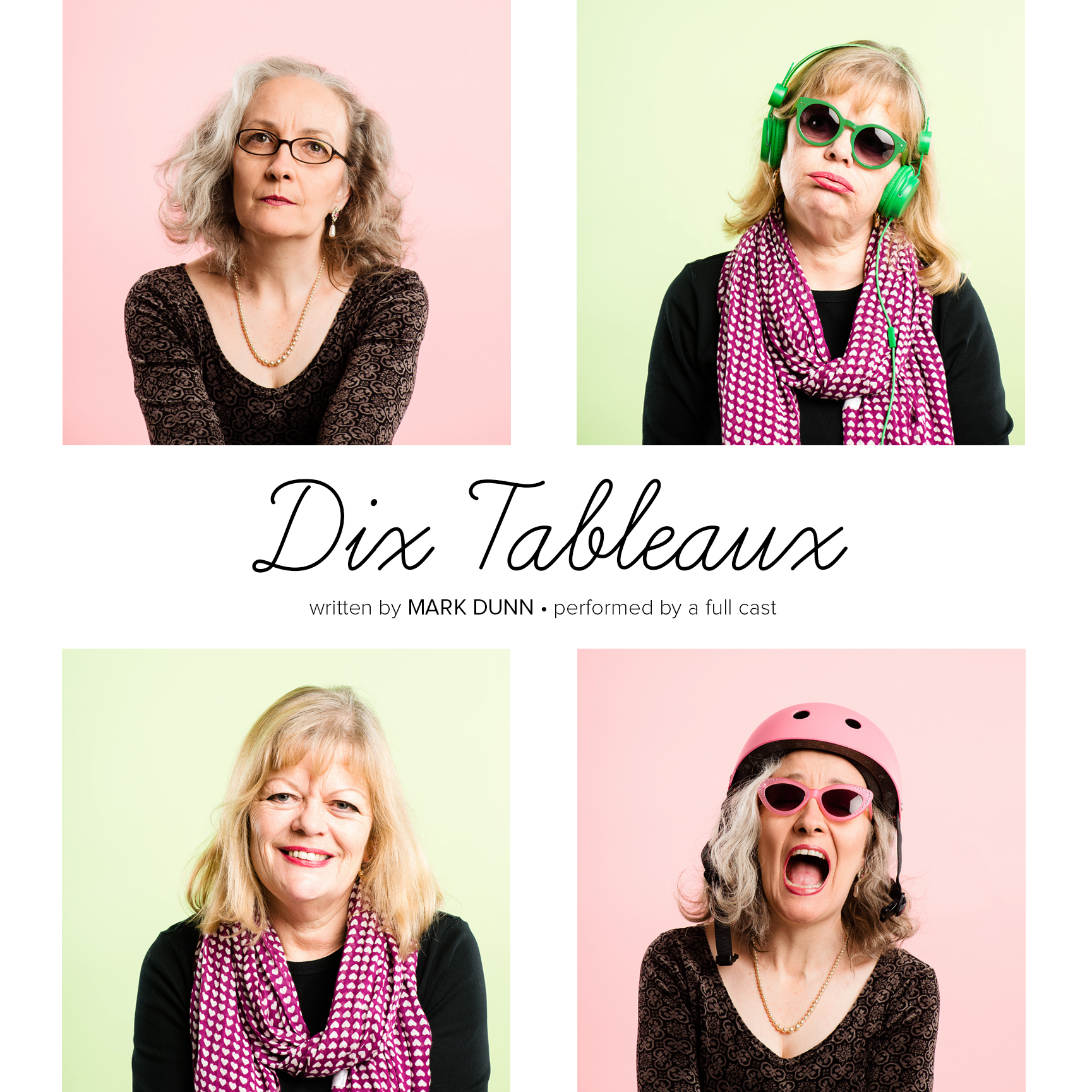 Printable Dix Tableaux Audiobook Cover Art