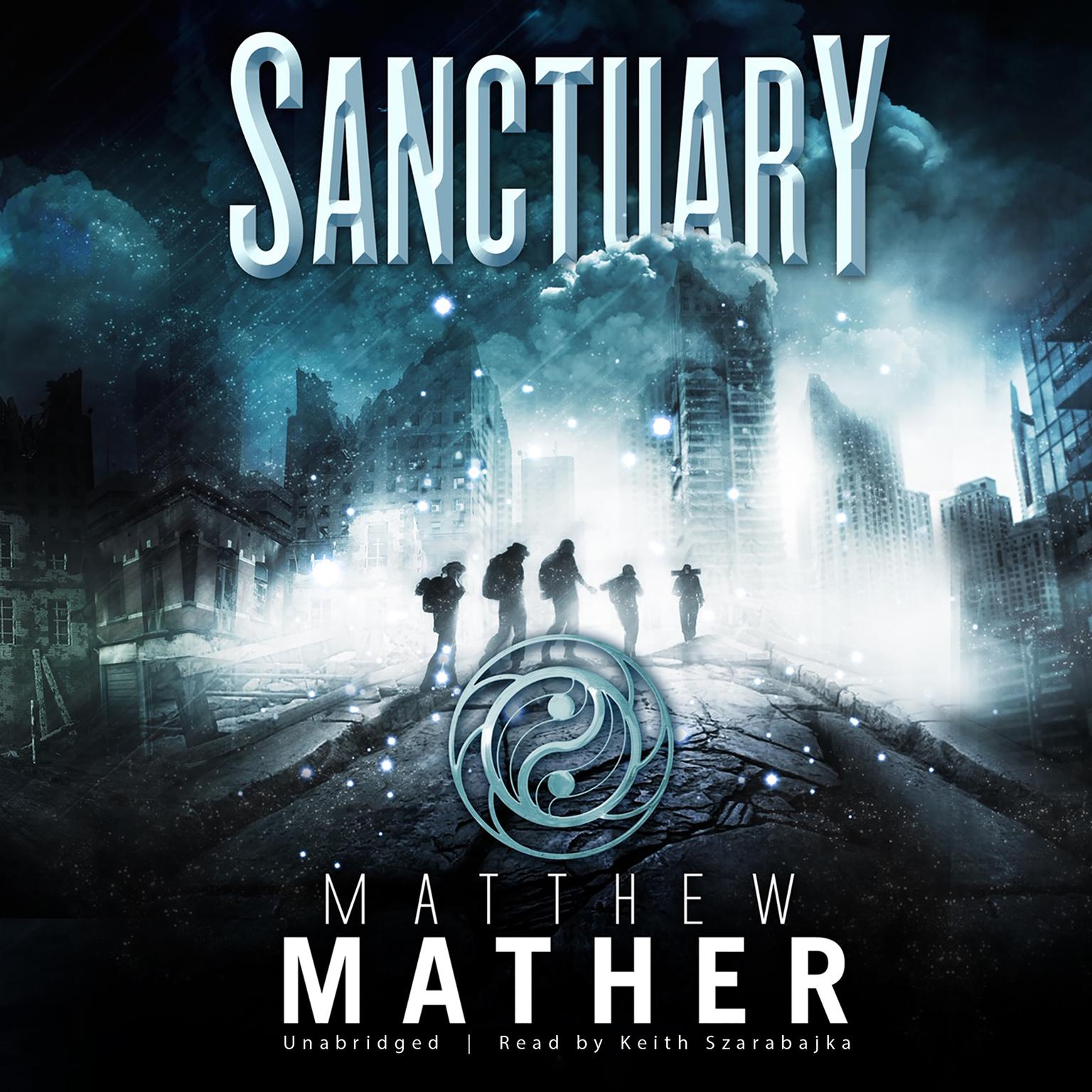 Printable Sanctuary: Book Two of Nomad Audiobook Cover Art