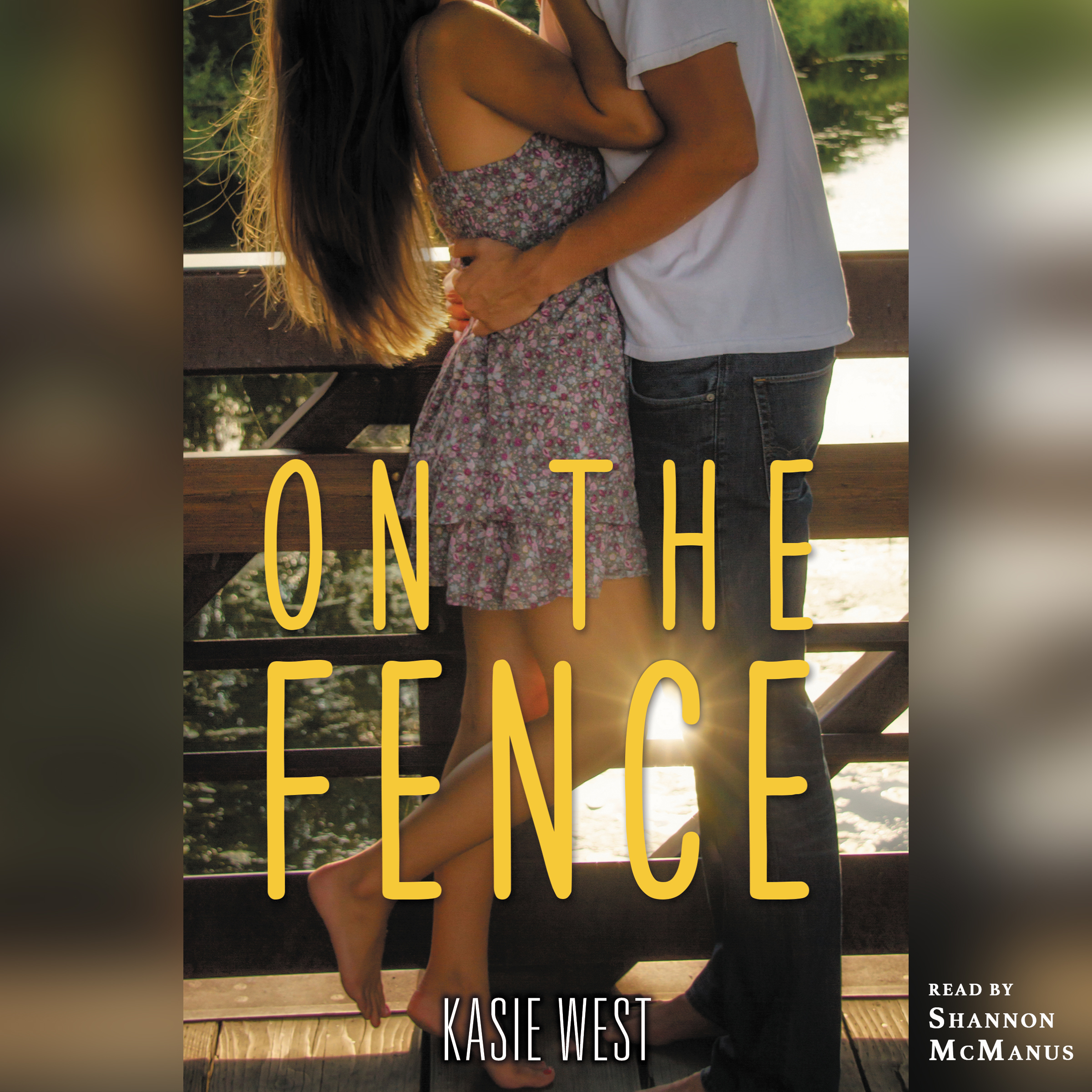 Printable On the Fence Audiobook Cover Art