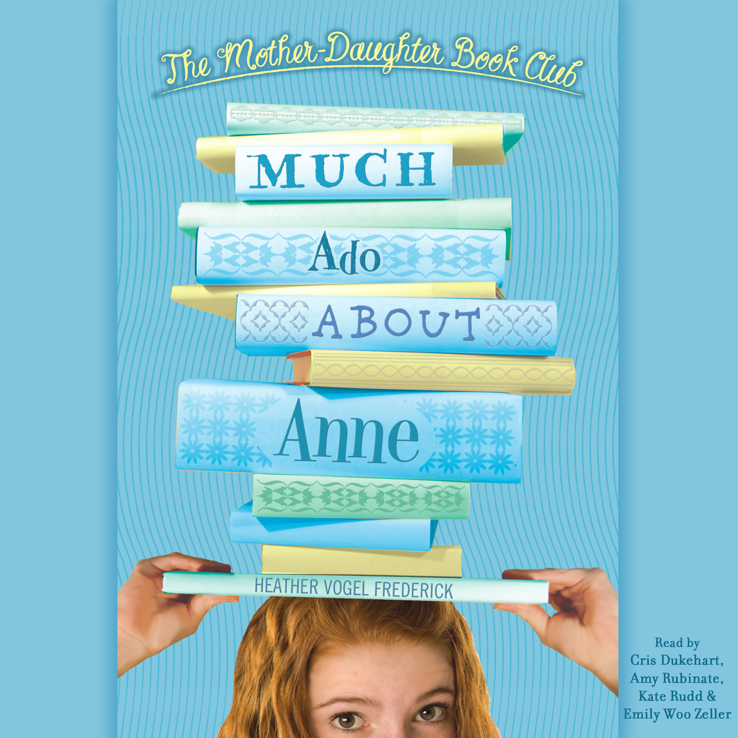 Printable Much Ado about Anne Audiobook Cover Art