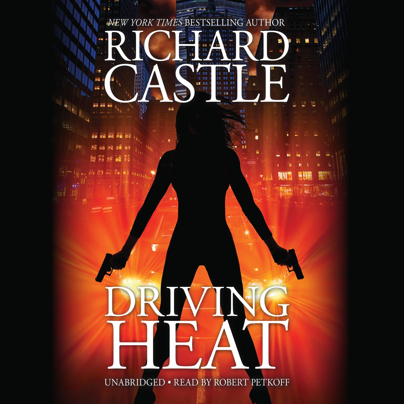 Printable Driving Heat Audiobook Cover Art