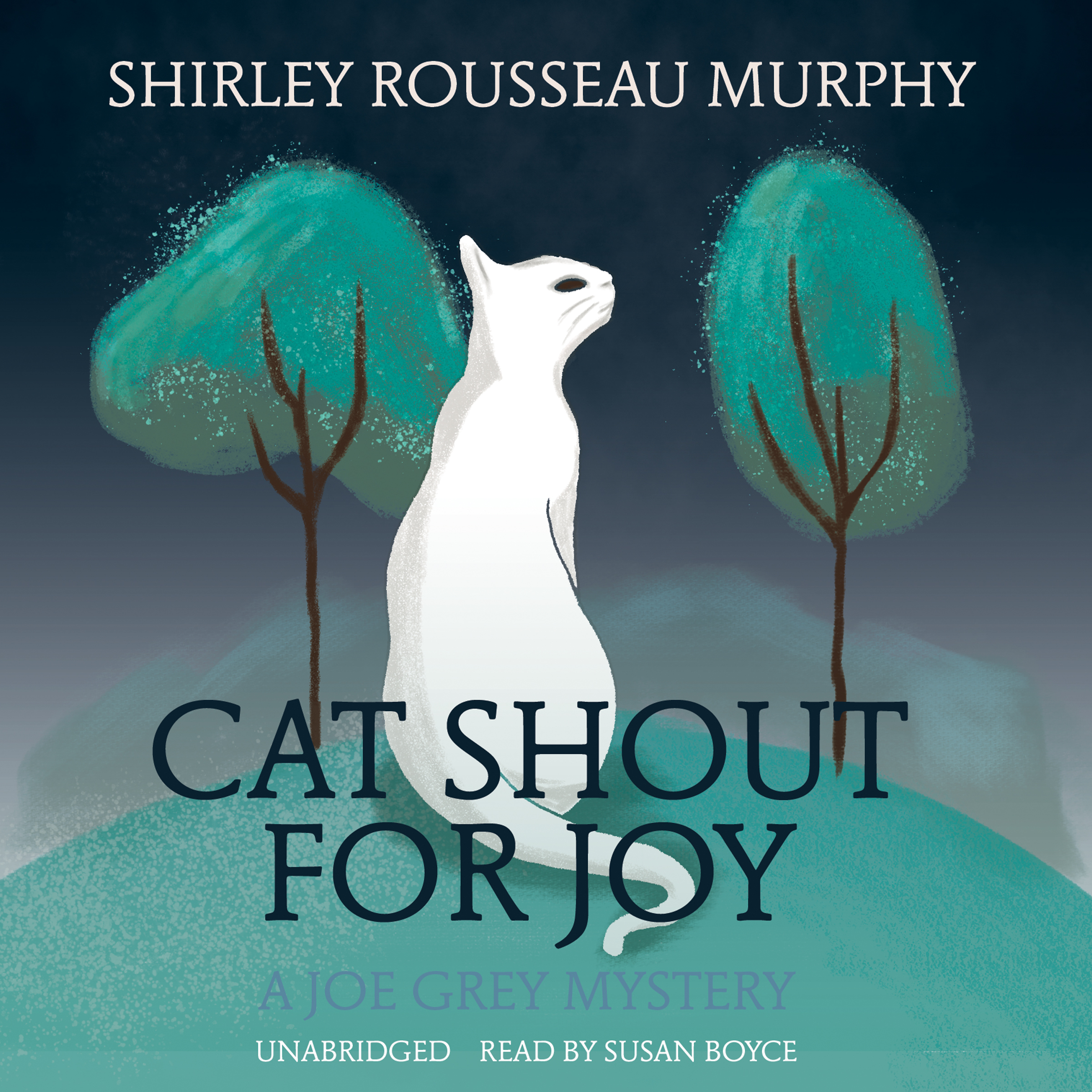 Printable Cat Shout for Joy: A Joe Grey Mystery Audiobook Cover Art