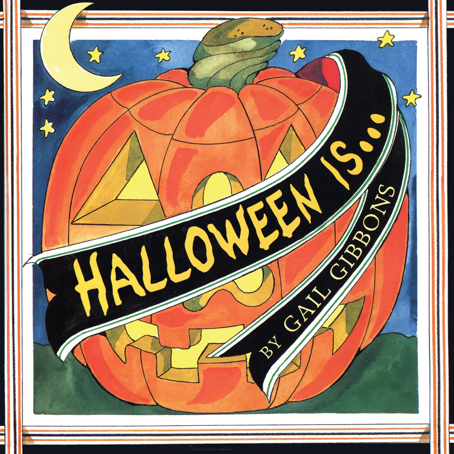 Printable Halloween Is … Audiobook Cover Art