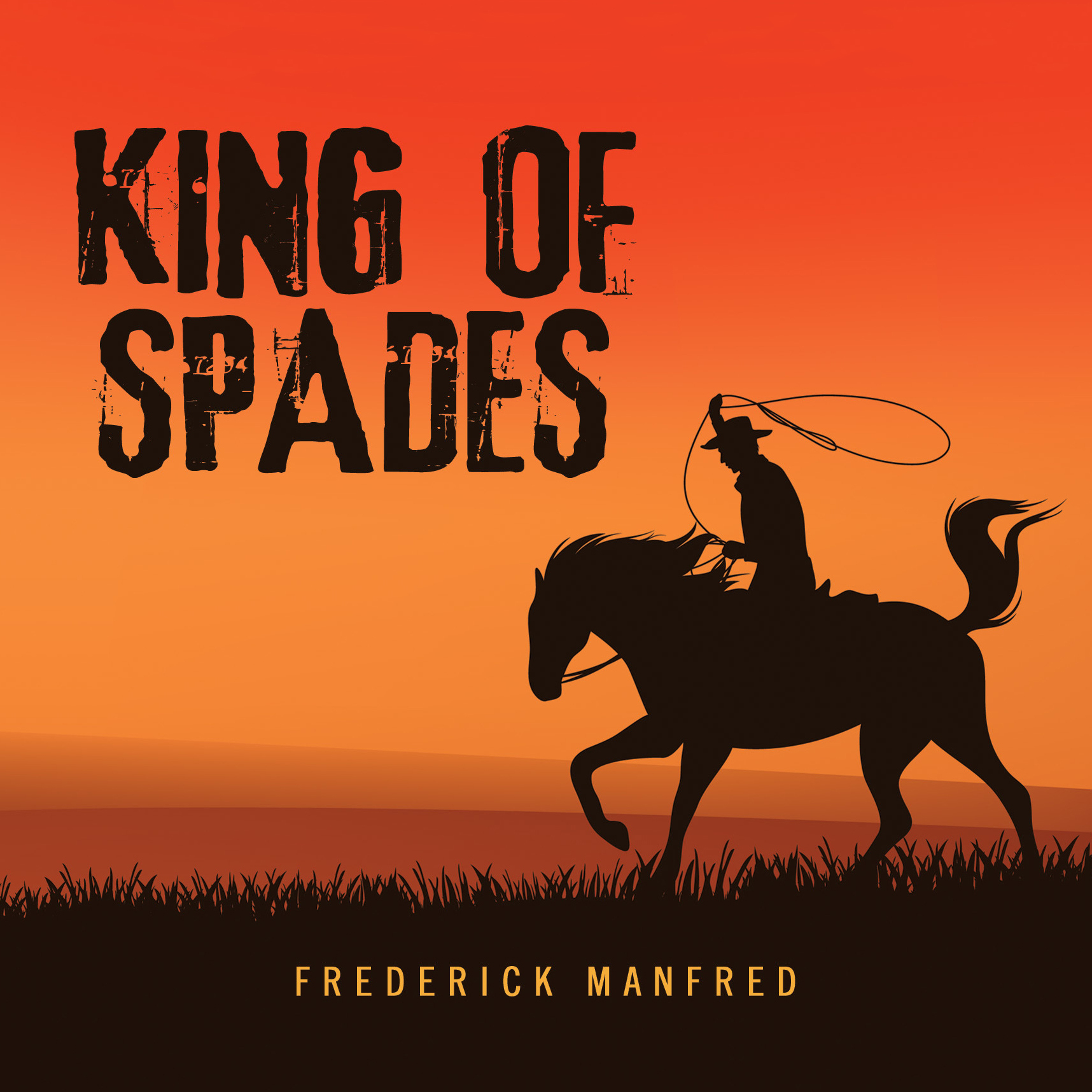 Printable King of Spades Audiobook Cover Art