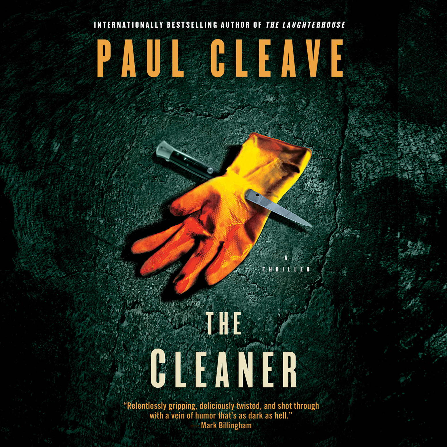 Printable The Cleaner Audiobook Cover Art