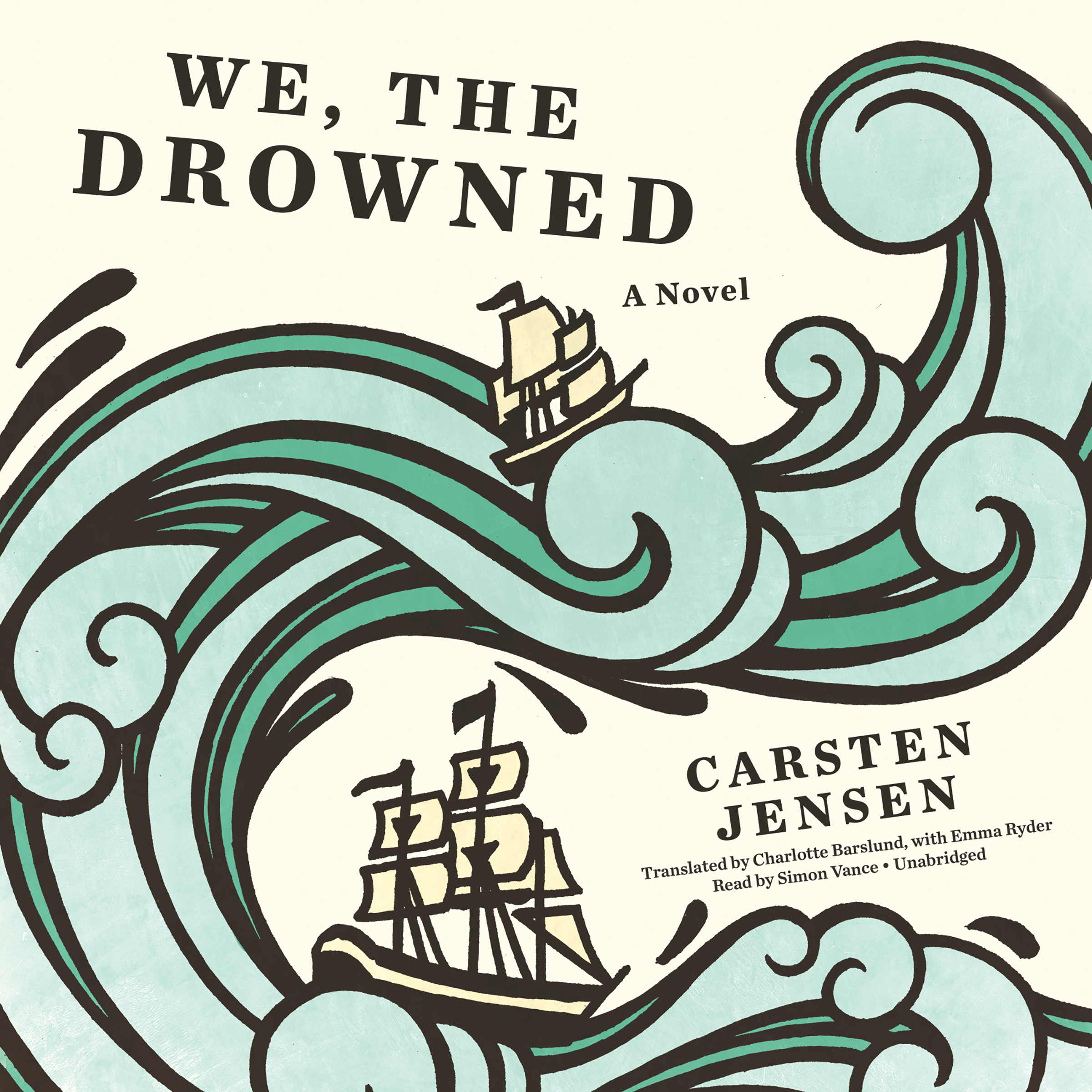 Printable We, the Drowned Audiobook Cover Art