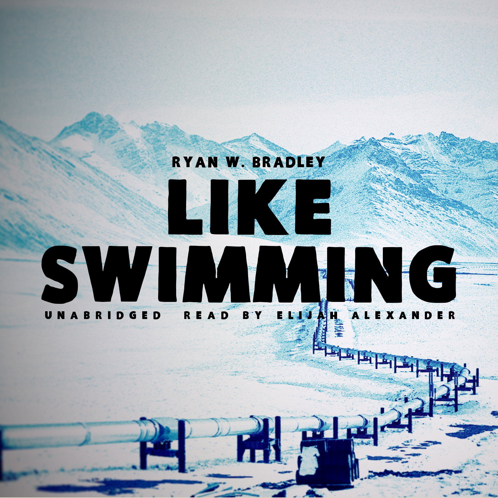 Printable Like Swimming Audiobook Cover Art