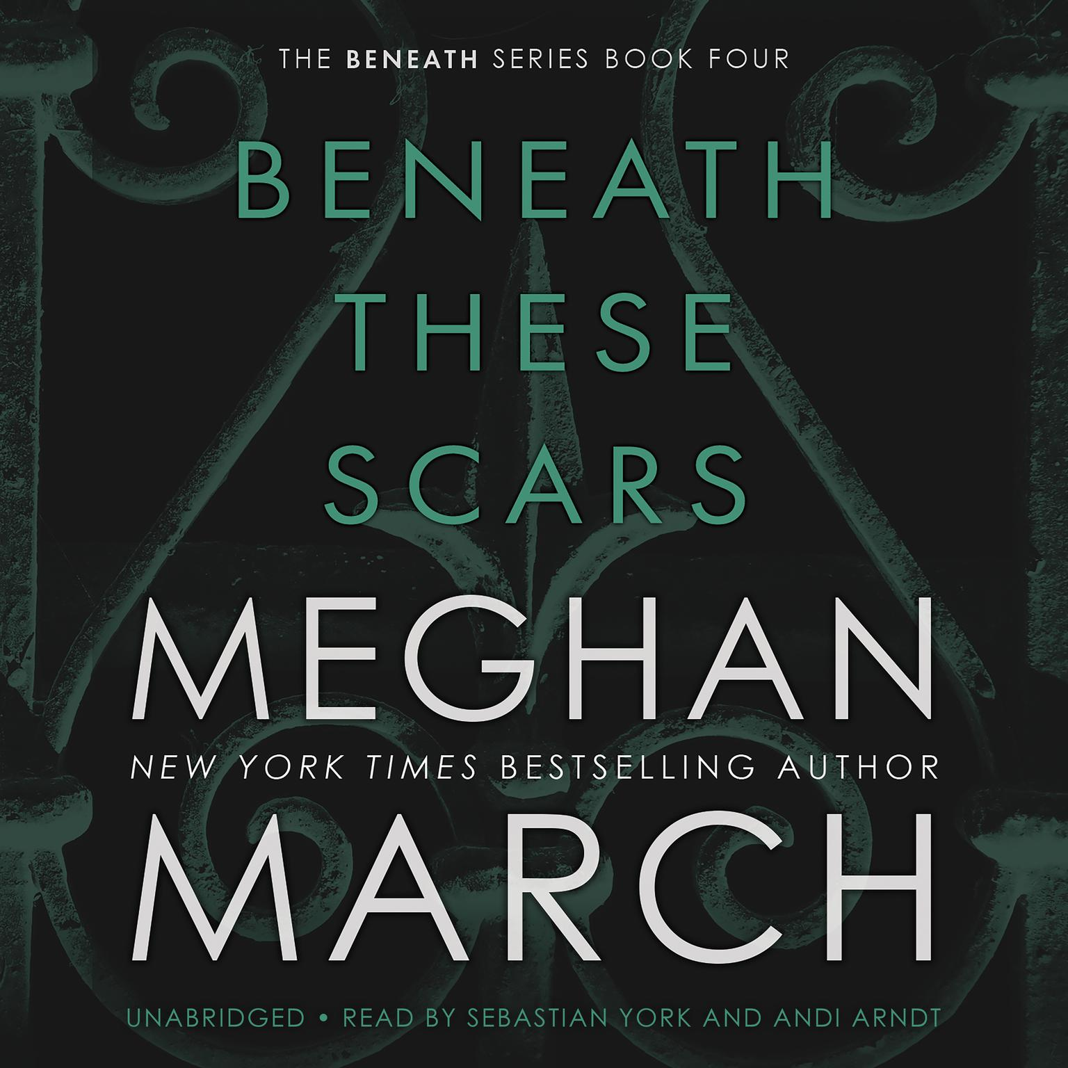 Printable Beneath These Scars Audiobook Cover Art