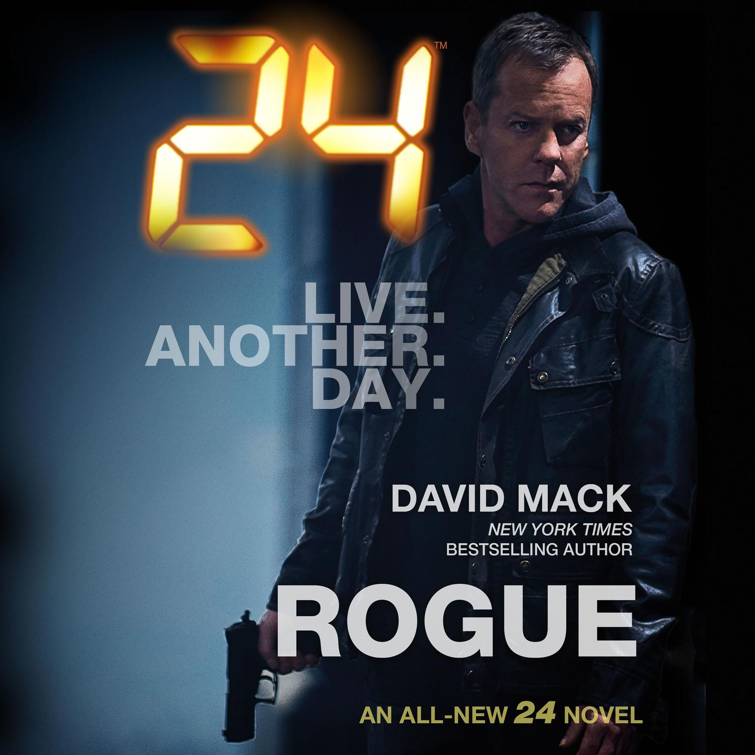 Printable 24: Rogue Audiobook Cover Art