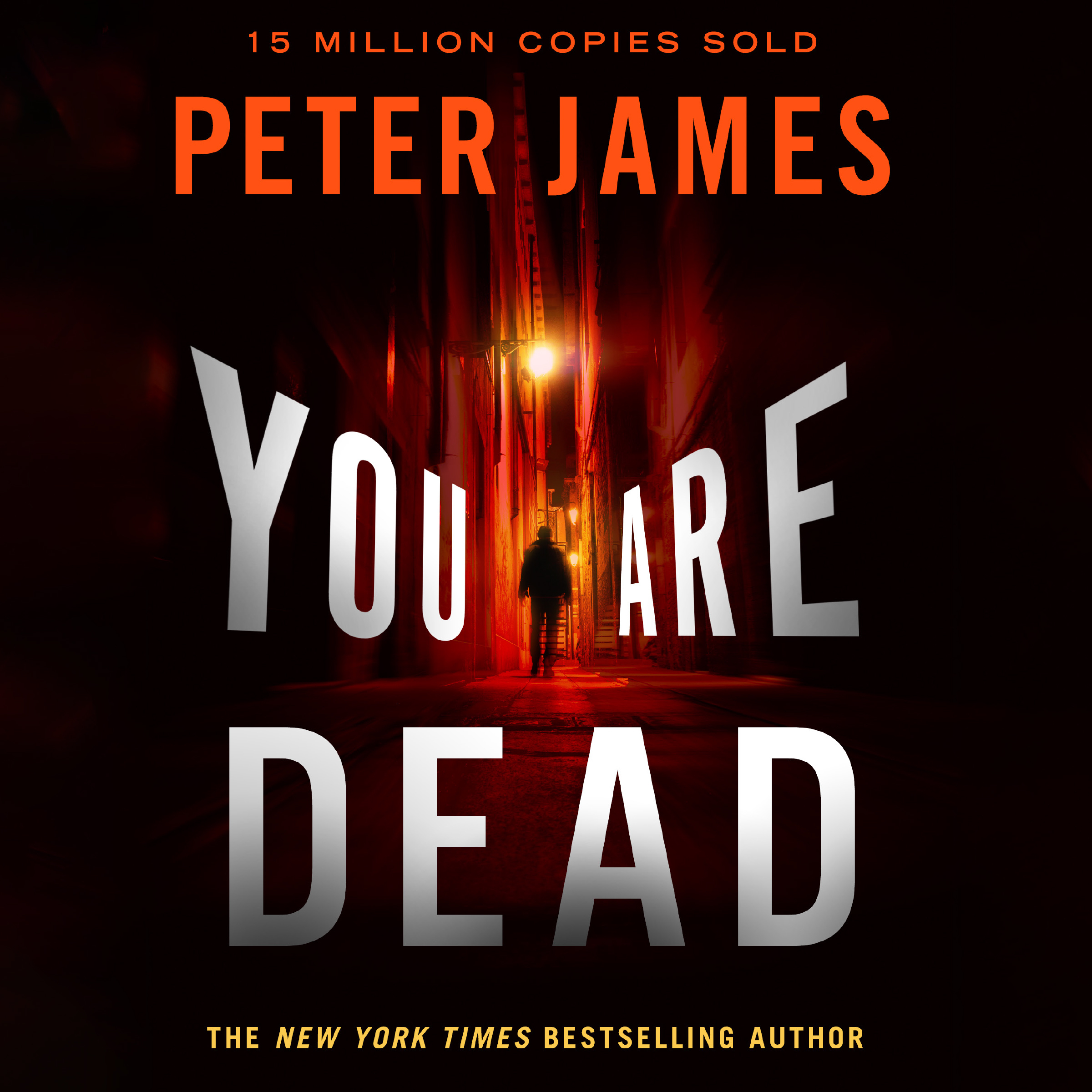 Printable You Are Dead Audiobook Cover Art