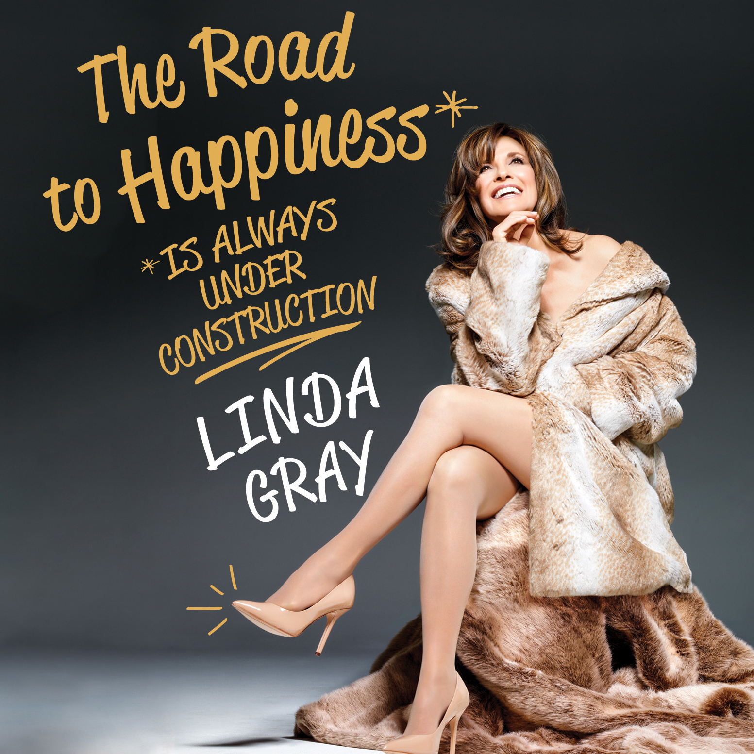 Printable The Road to Happiness Is Always under Construction Audiobook Cover Art