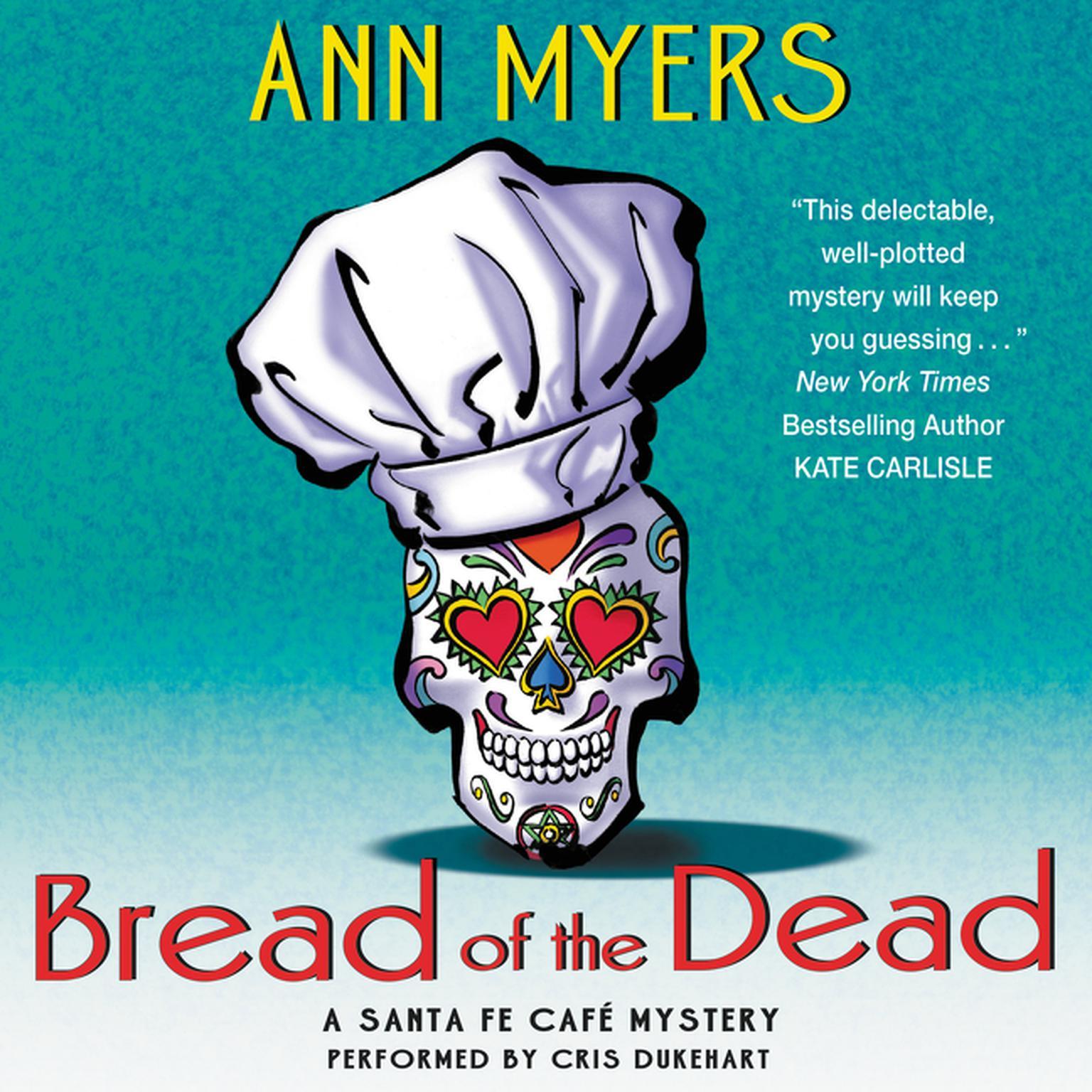 Printable Bread of the Dead: A Santa Fe Cafe Mystery Audiobook Cover Art