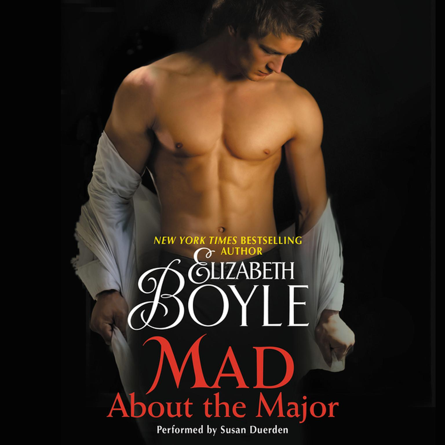 Printable Mad About the Major Audiobook Cover Art