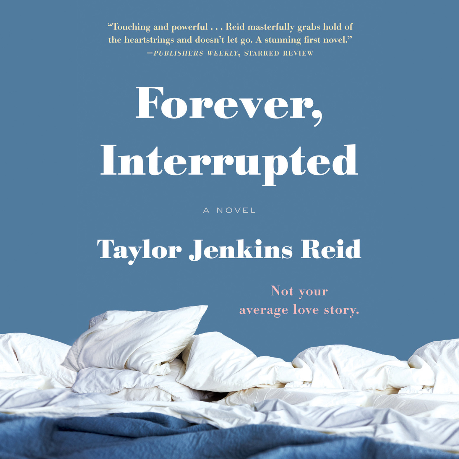 Printable Forever, Interrupted: A Novel Audiobook Cover Art