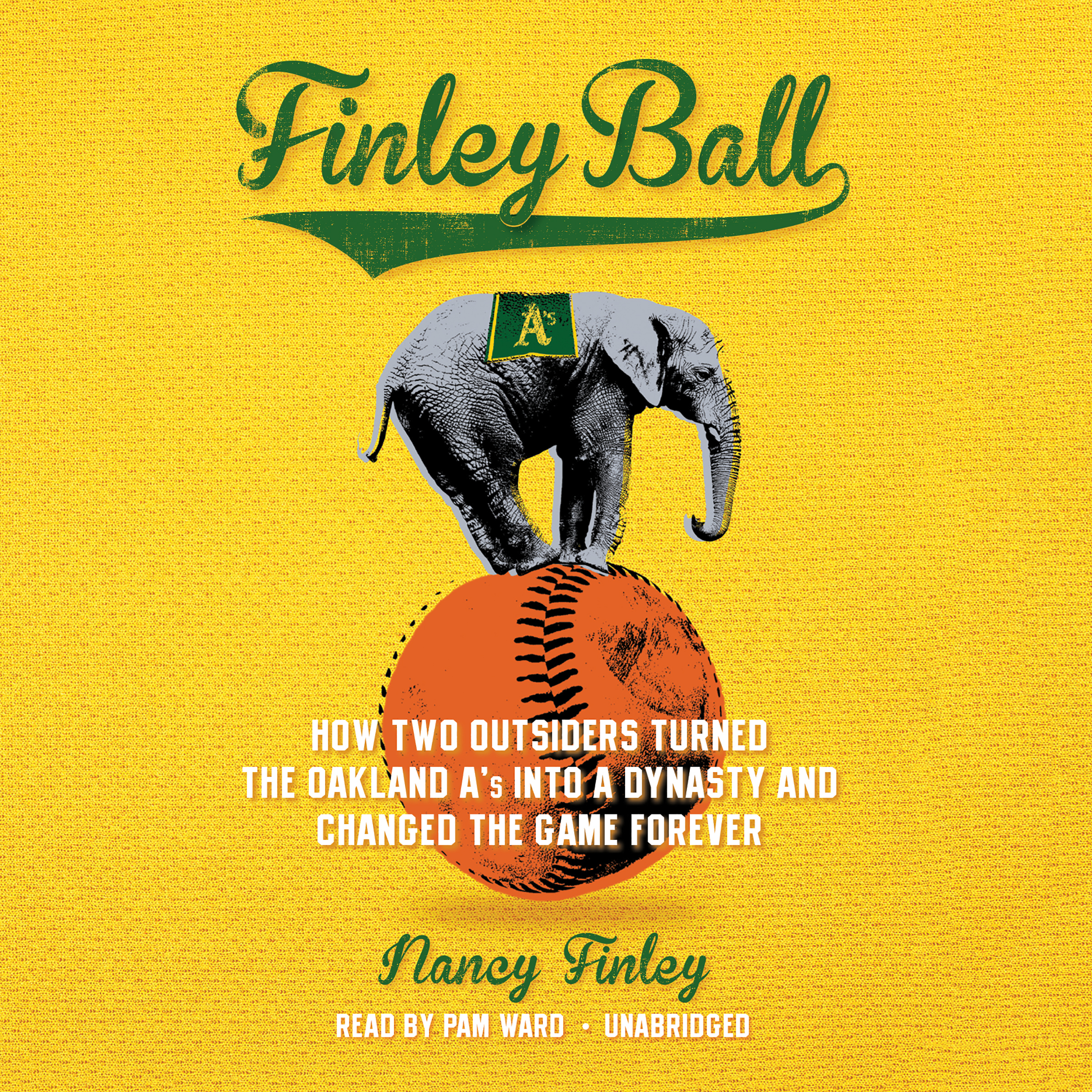 Printable Finley Ball: How Two Outsiders Turned the Oakland A's into a Dynasty and Changed the Game Forever Audiobook Cover Art