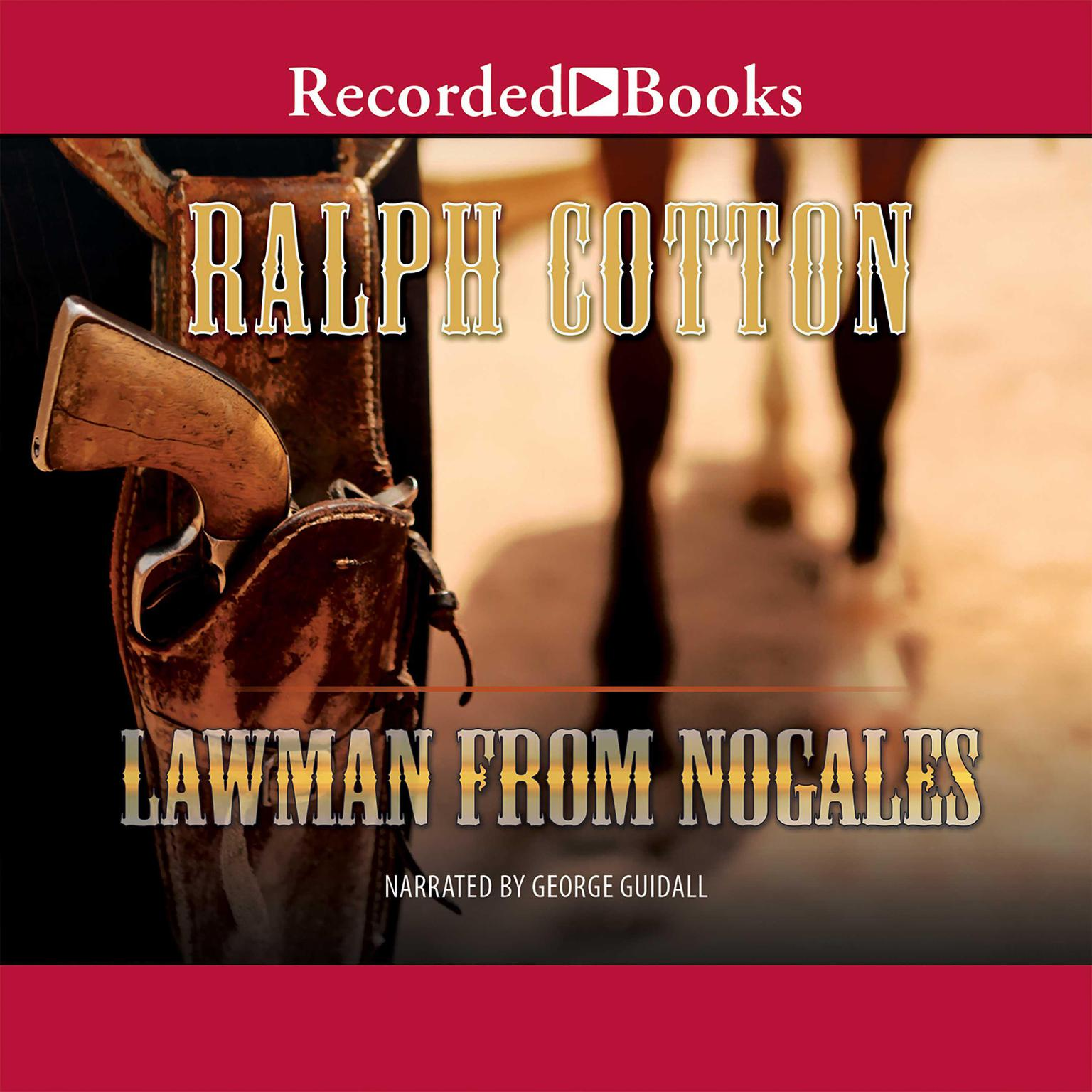 Printable Lawman from Nogales Audiobook Cover Art