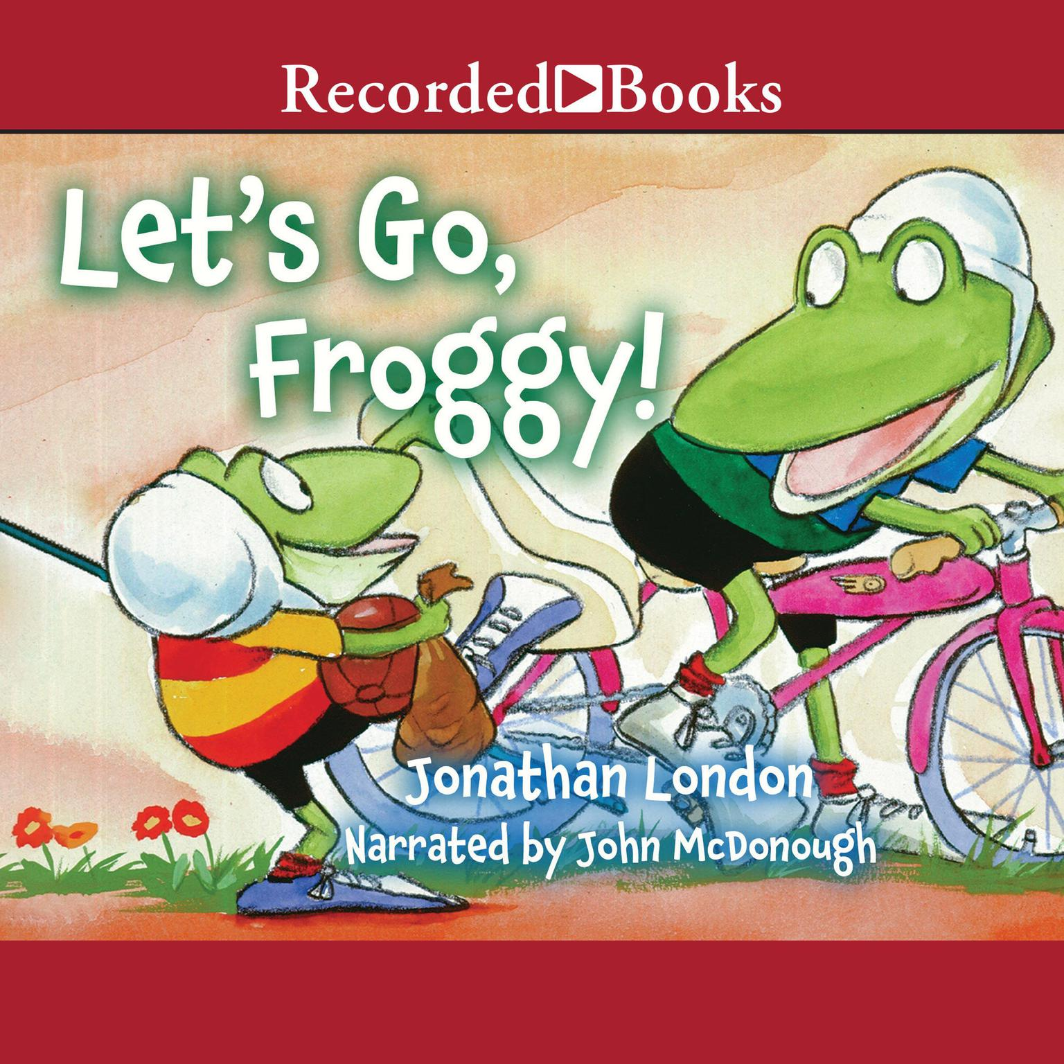 Printable Let's Go, Froggy! Audiobook Cover Art