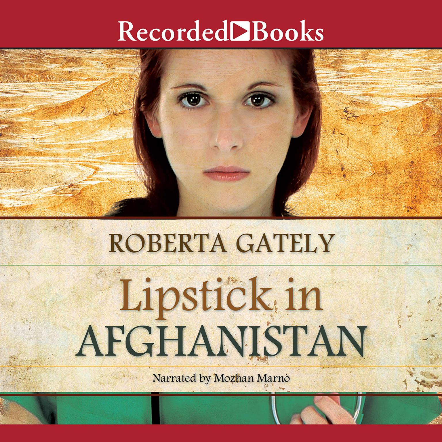 Printable Lipstick in Afghanistan Audiobook Cover Art