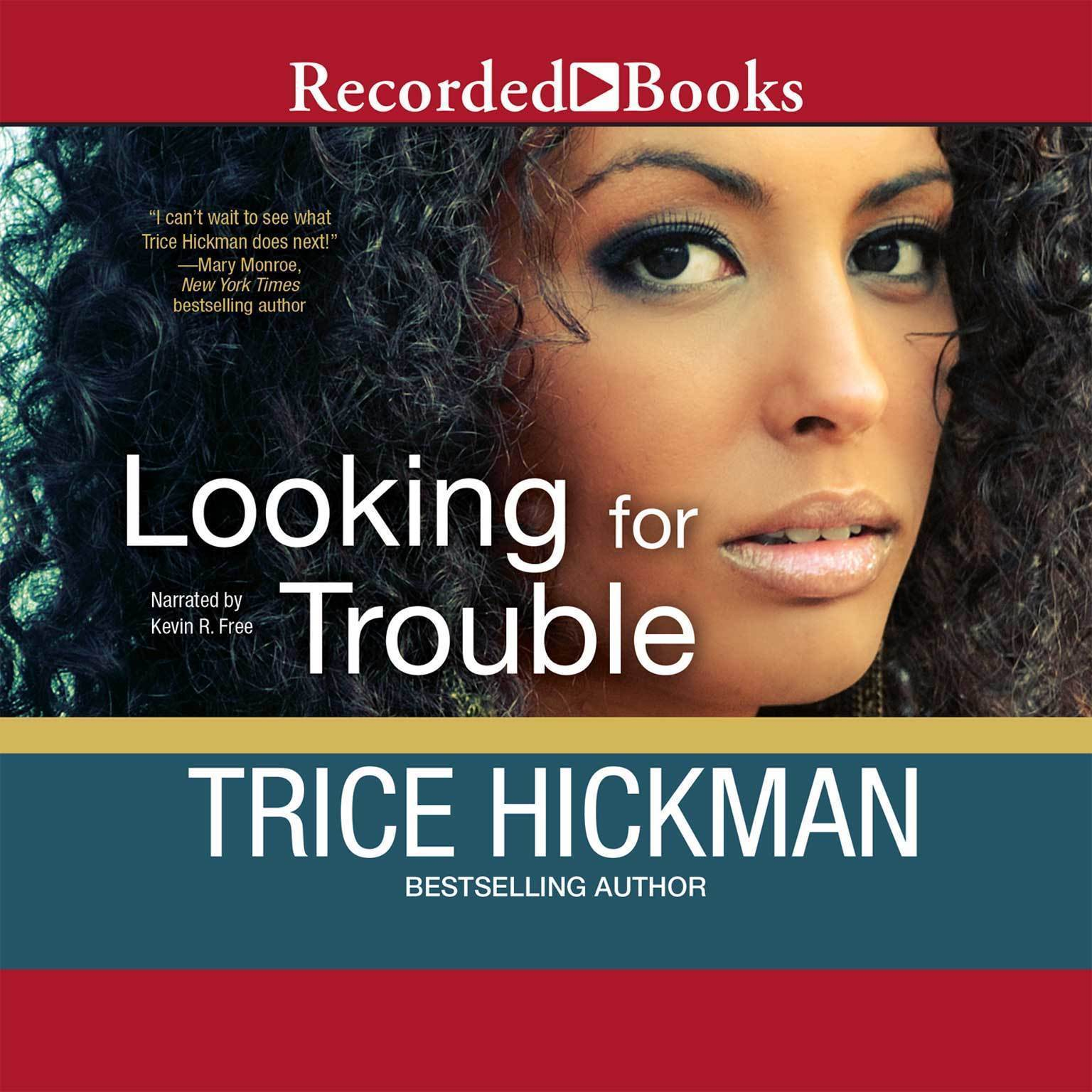 Printable Looking for Trouble Audiobook Cover Art
