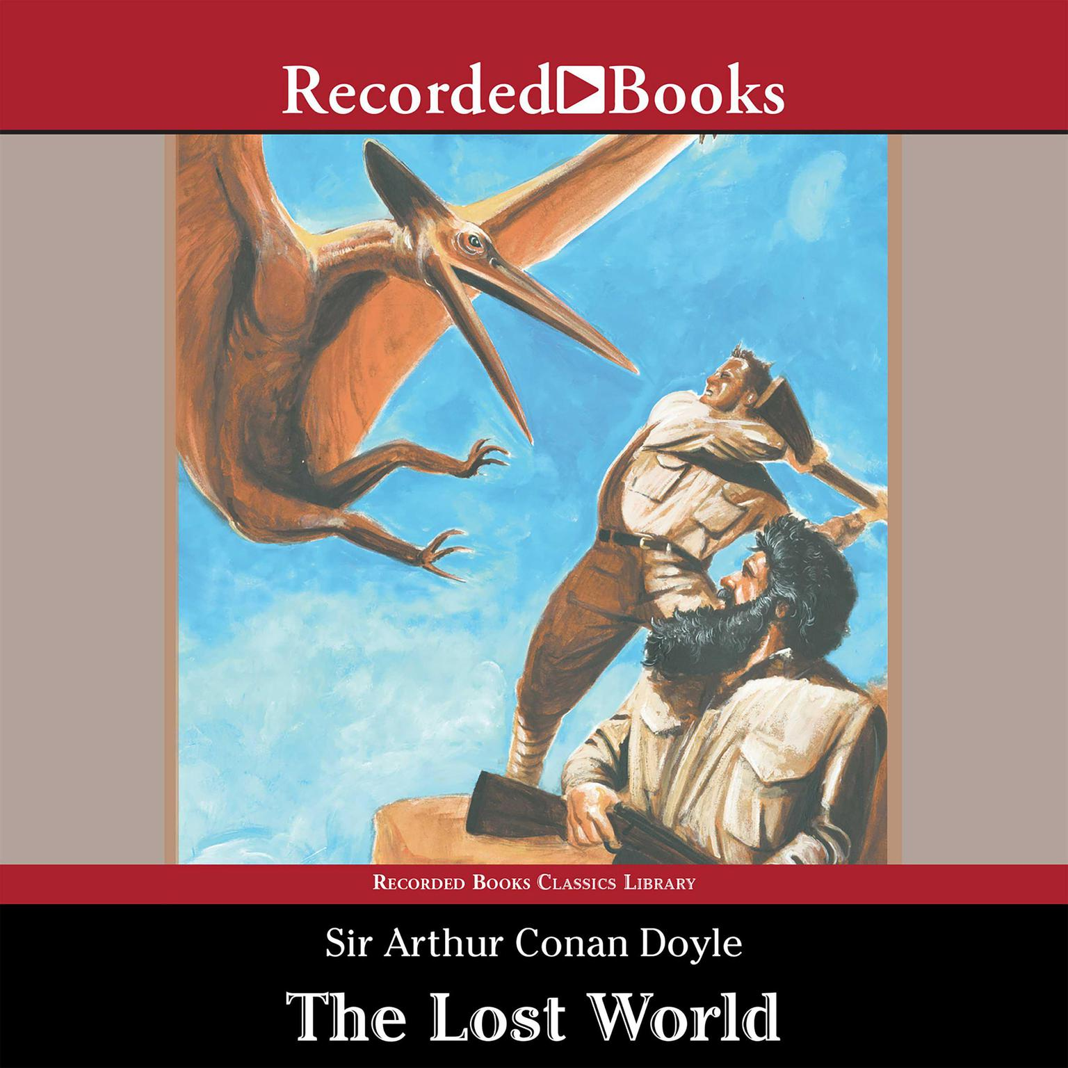 Printable The Lost World Audiobook Cover Art