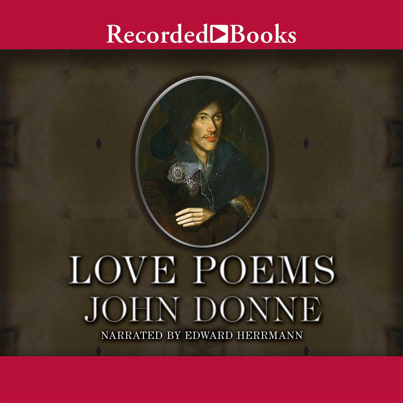 Printable John Donne: Love Poems Audiobook Cover Art