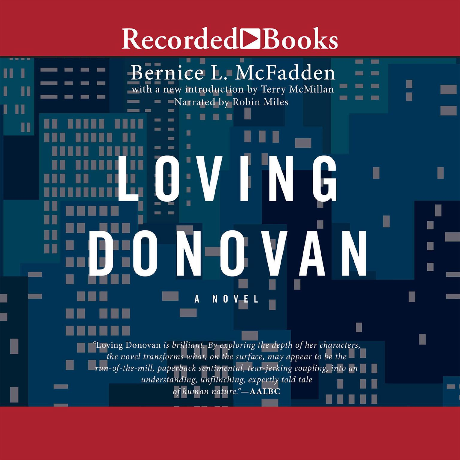 Printable Loving Donovan Audiobook Cover Art