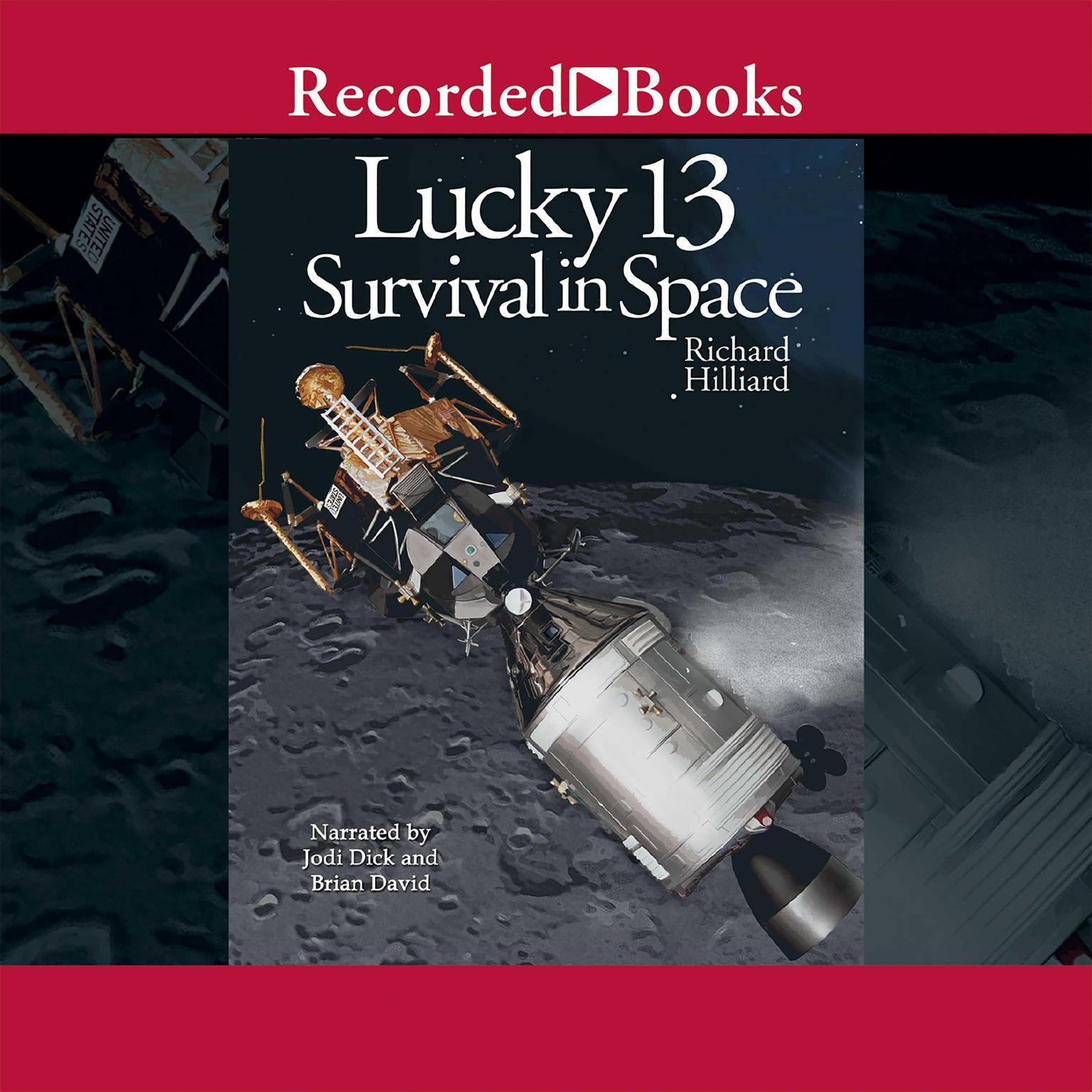 Printable Lucky 13: Survival in Space Audiobook Cover Art