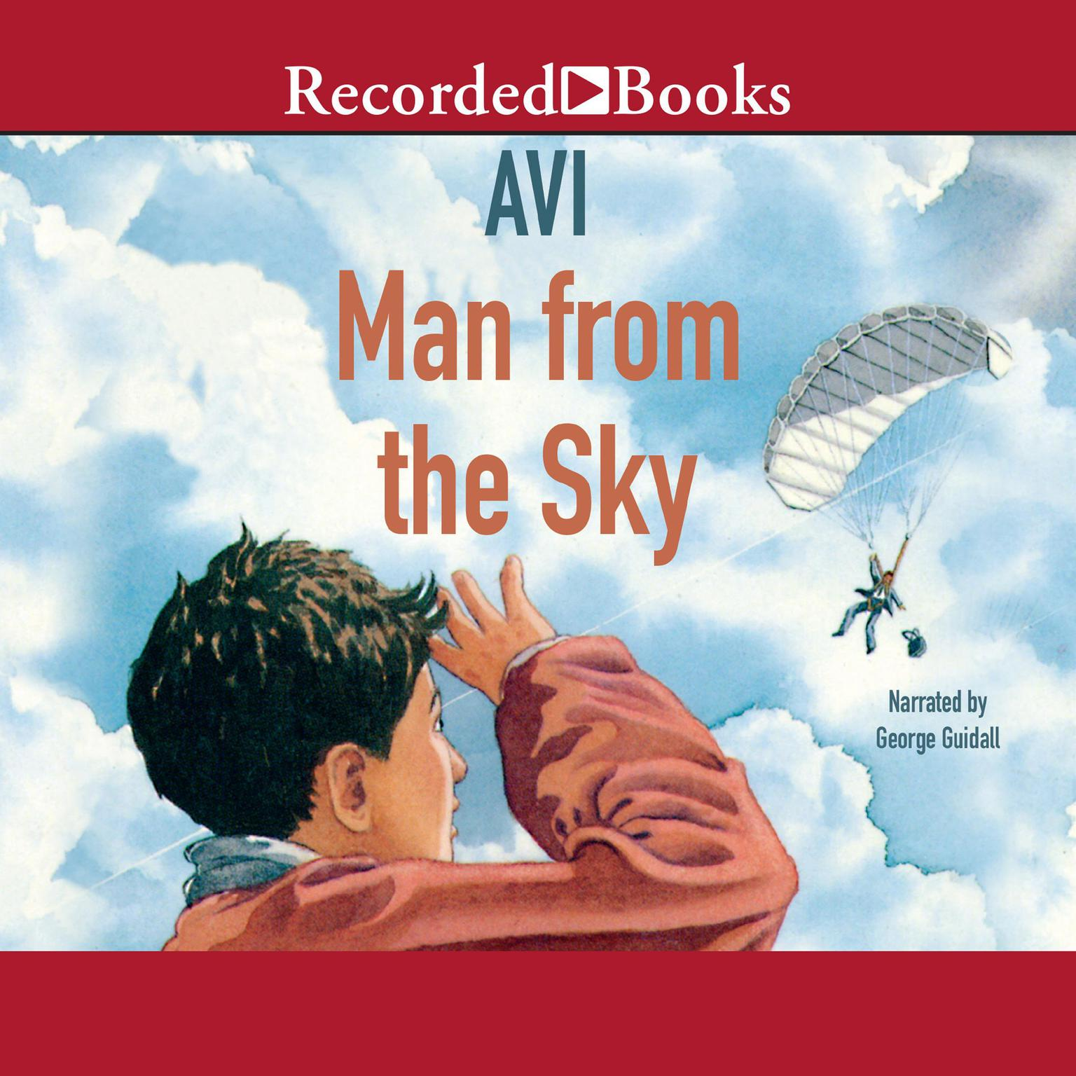 Printable Man from the Sky Audiobook Cover Art