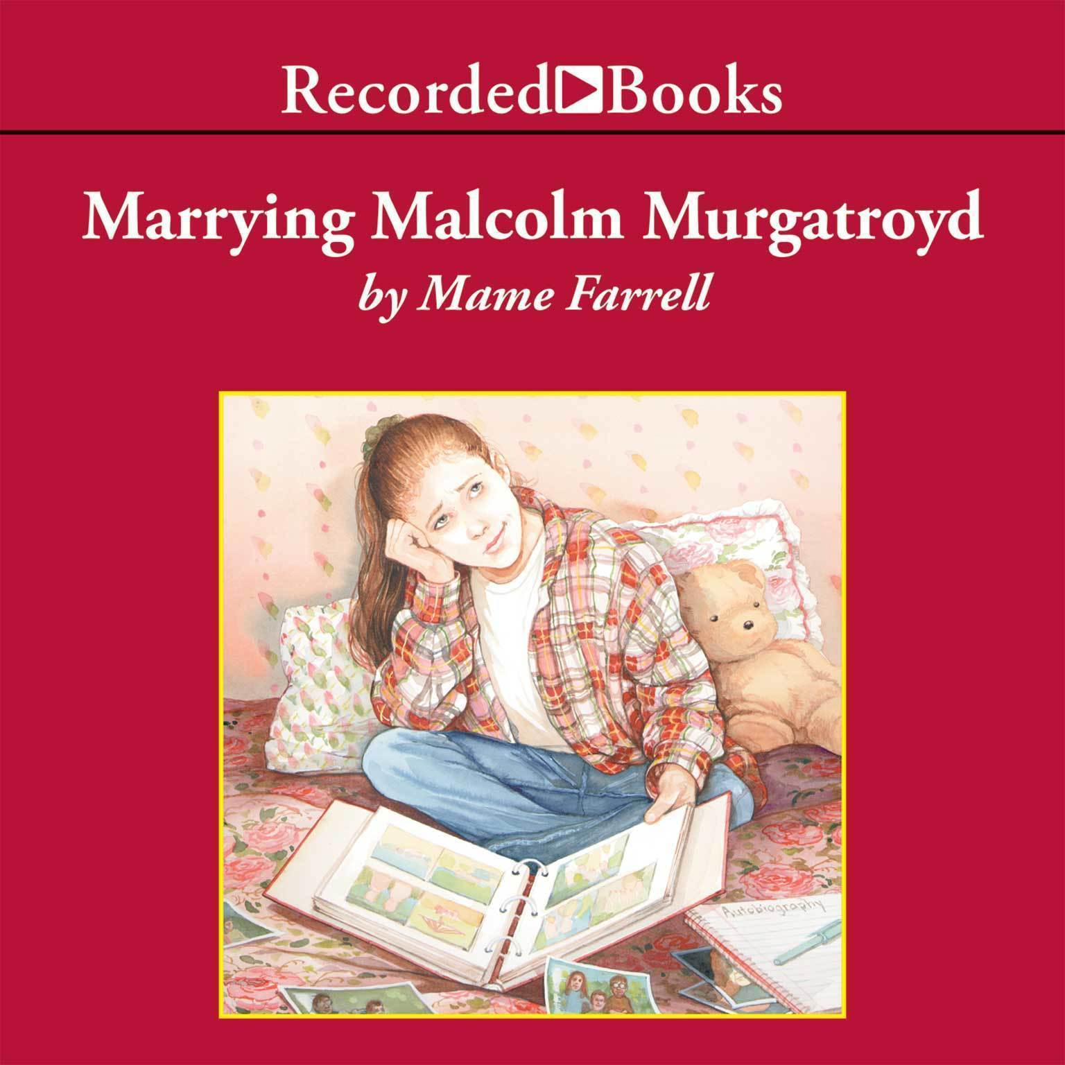 Printable Marrying Malcolm Murgatroyd Audiobook Cover Art