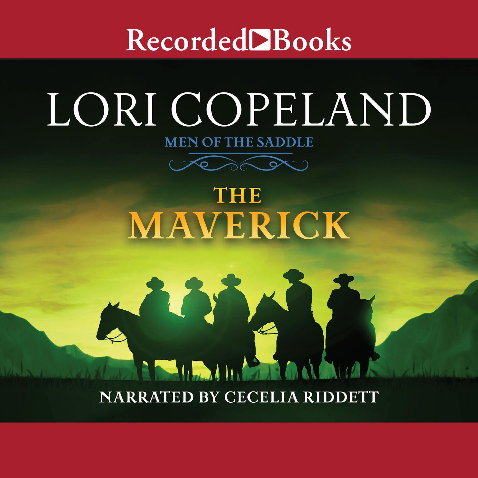 Printable The Maverick: Men of the Saddle Audiobook Cover Art