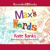 Maxs Words, by Kate Banks