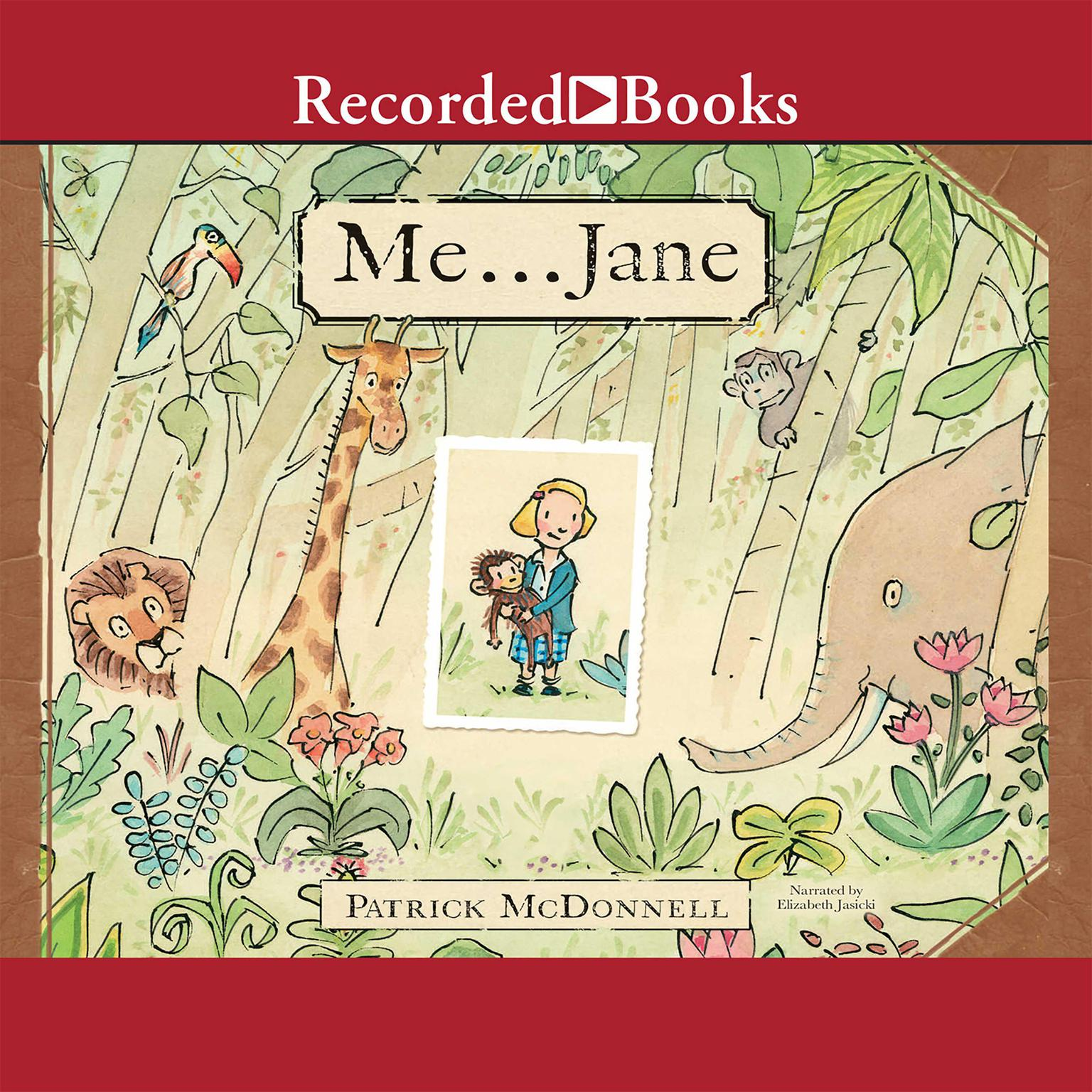 Printable Me...Jane Audiobook Cover Art