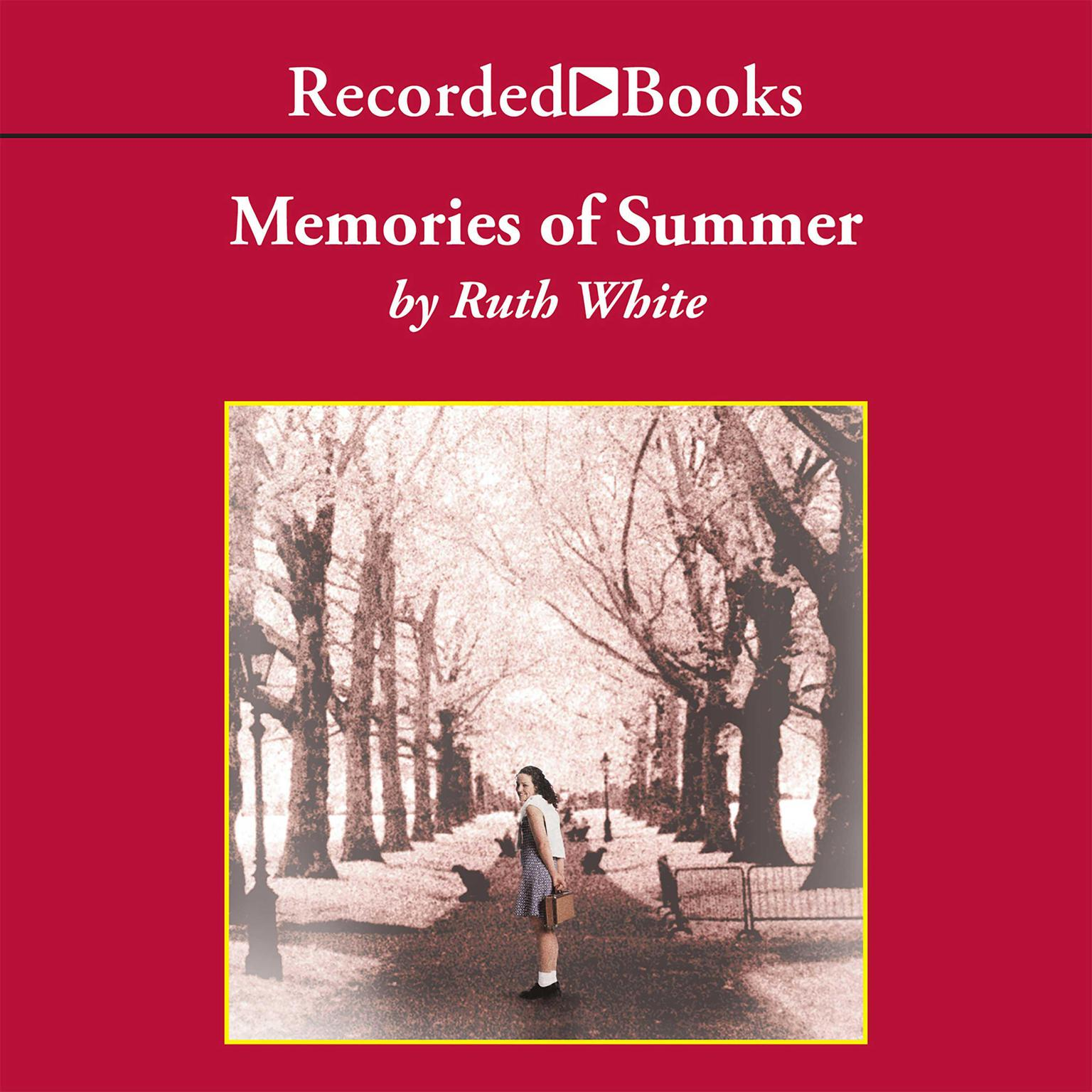 Printable Memories of Summer Audiobook Cover Art