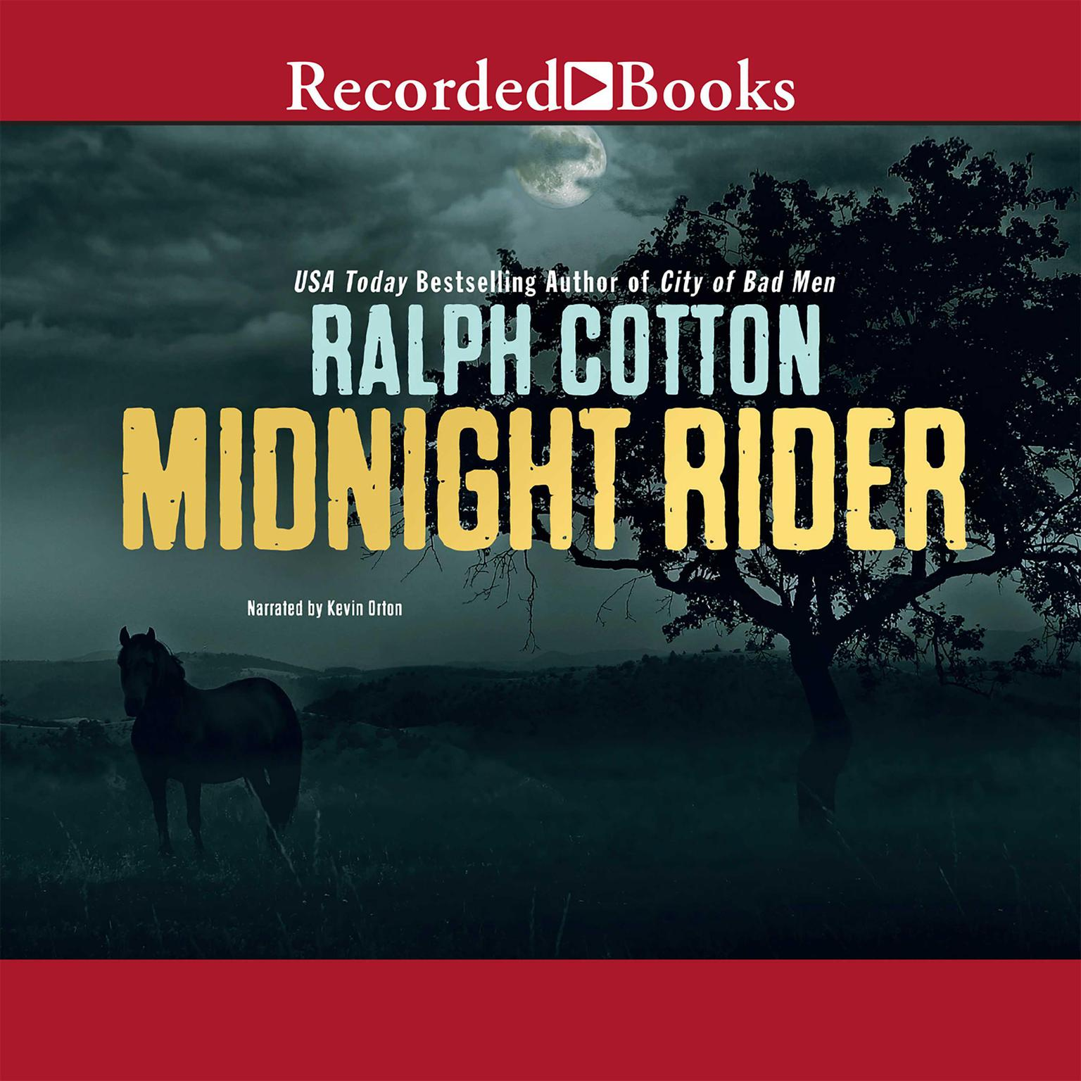 Printable Midnight Rider Audiobook Cover Art
