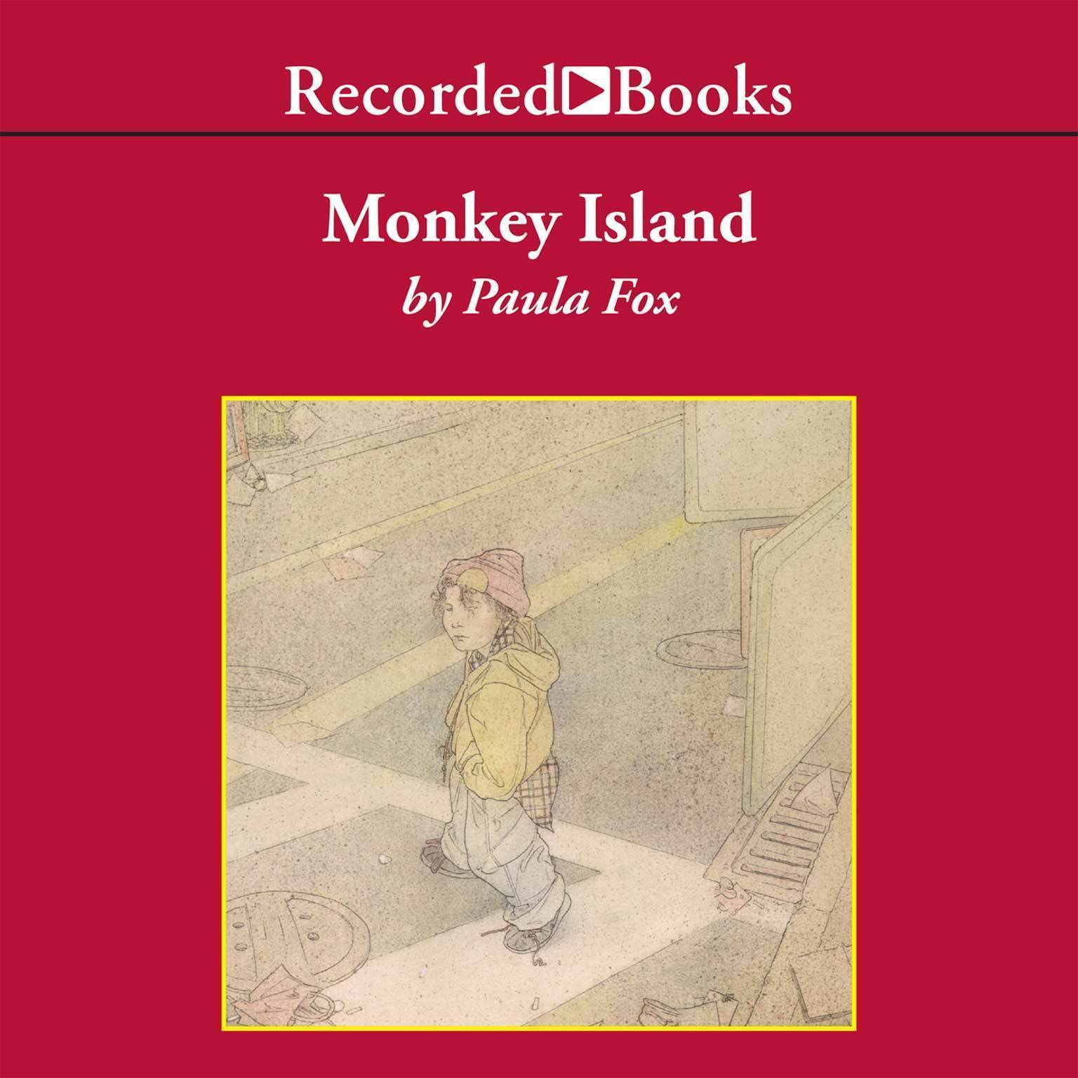 Printable Monkey Island Audiobook Cover Art