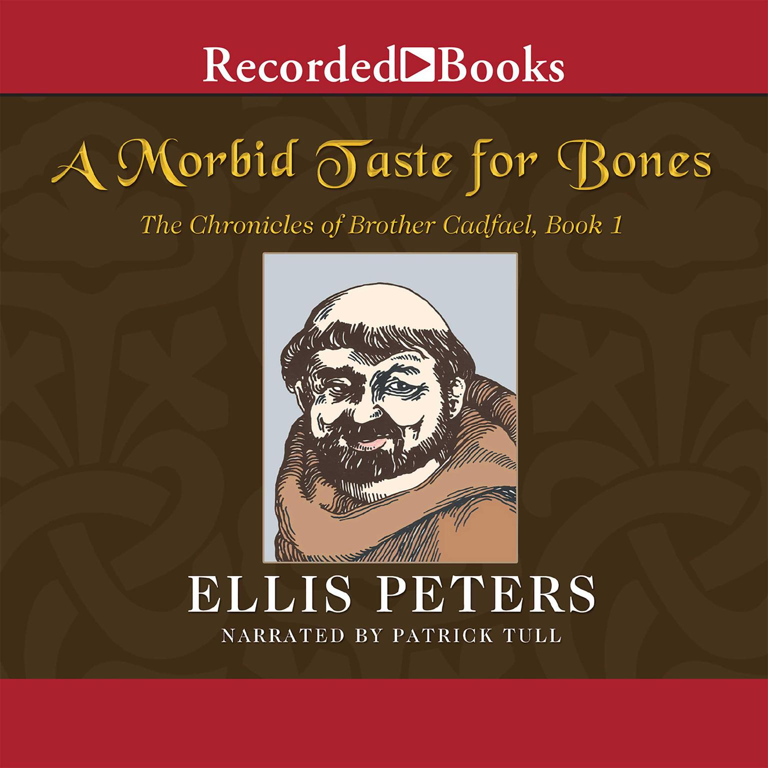 Printable A Morbid Taste for Bones Audiobook Cover Art