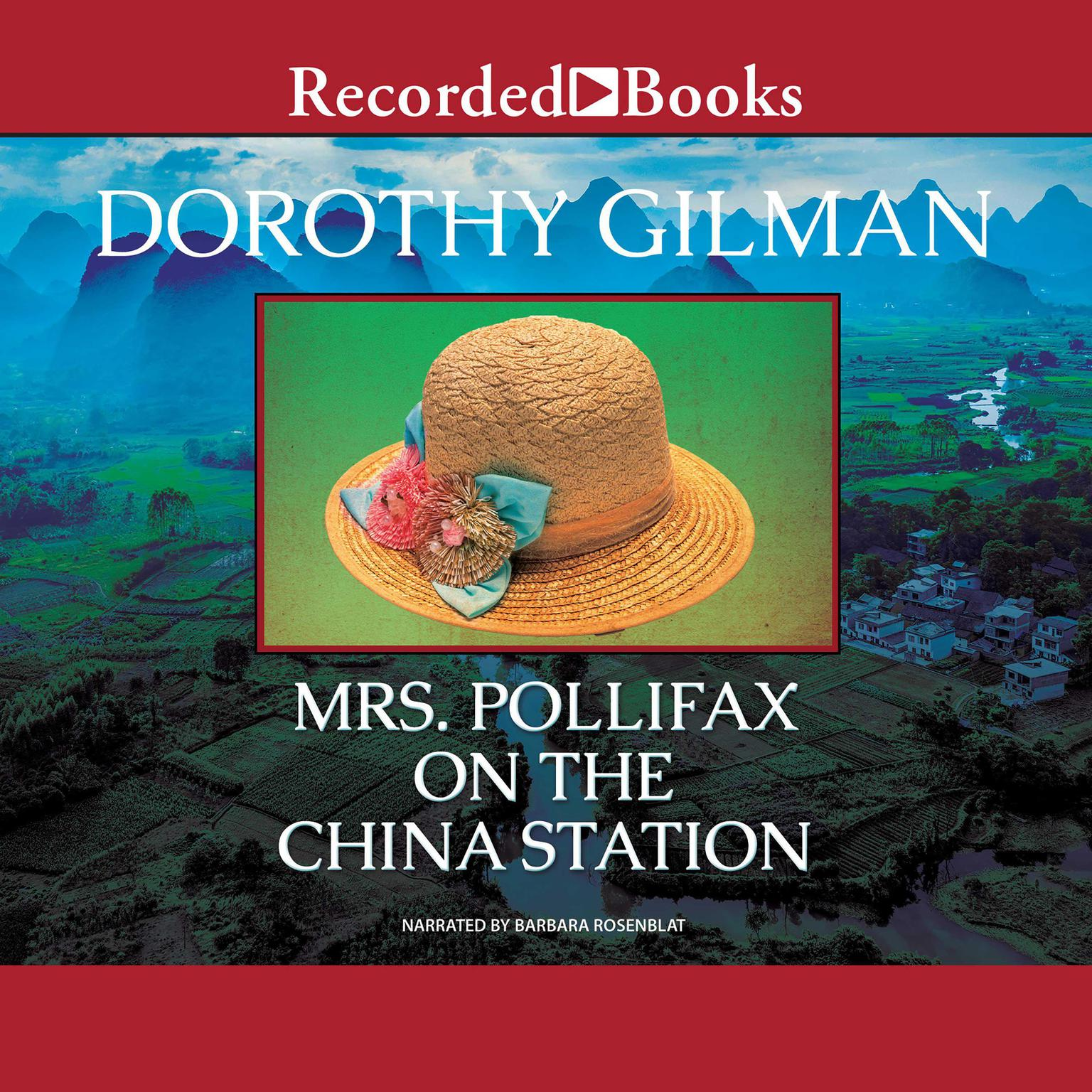 Printable Mrs. Pollifax on the China Station Audiobook Cover Art